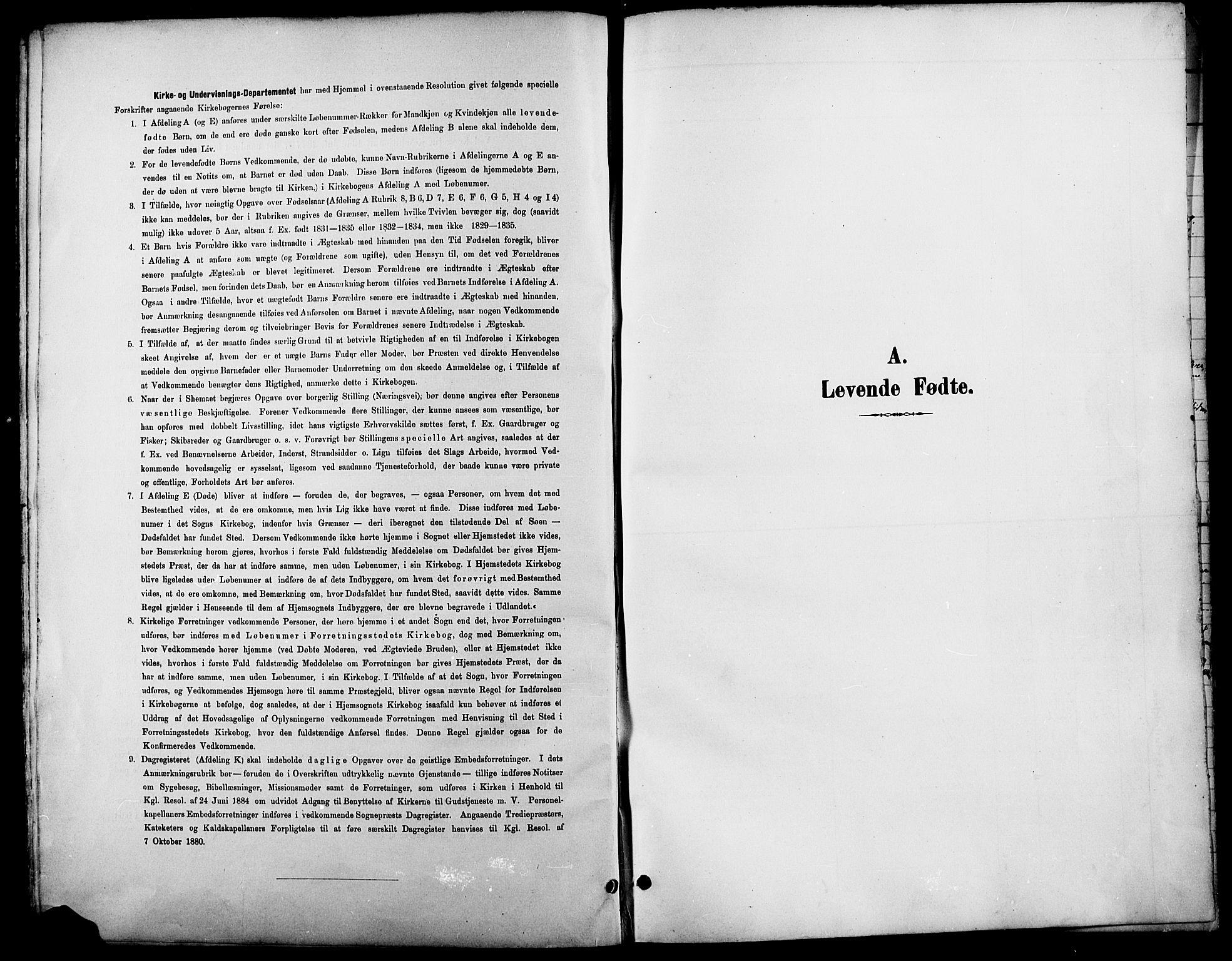SAH, Lesja prestekontor, Klokkerbok nr. 7, 1895-1919