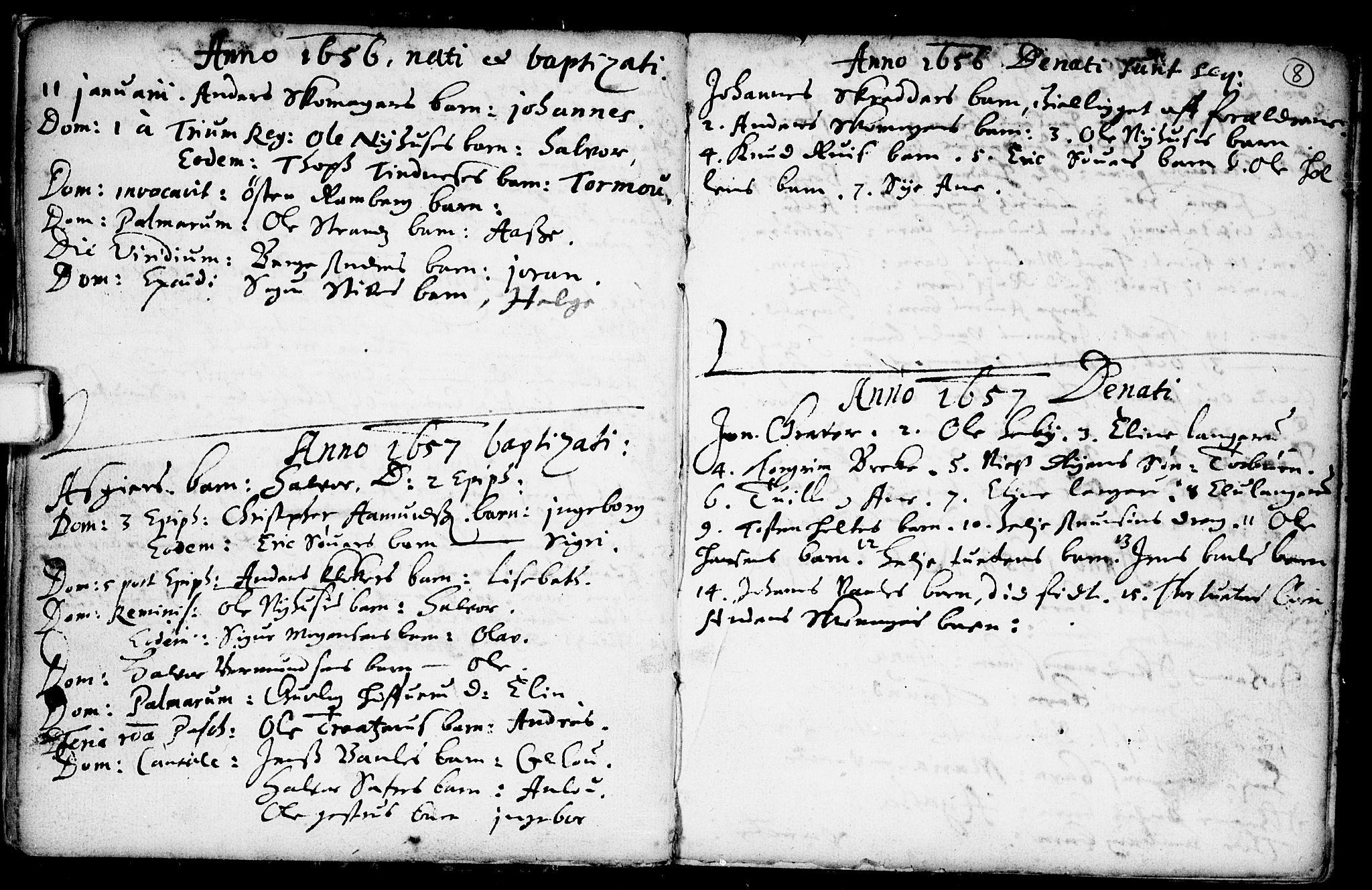 SAKO, Heddal kirkebøker, F/Fa/L0001: Ministerialbok nr. I 1, 1648-1699, s. 8