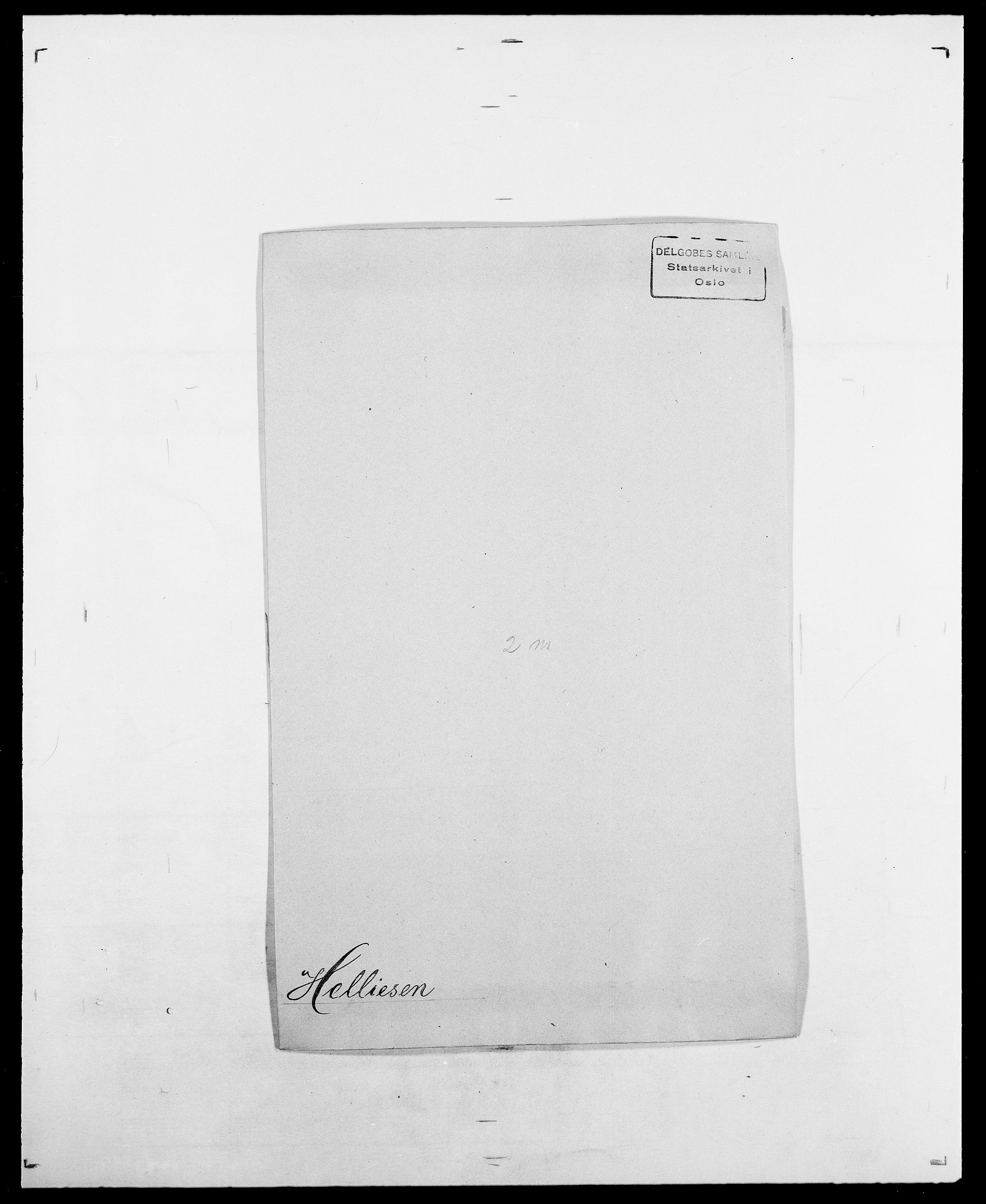 SAO, Delgobe, Charles Antoine - samling, D/Da/L0017: Helander - Hjørne, s. 80