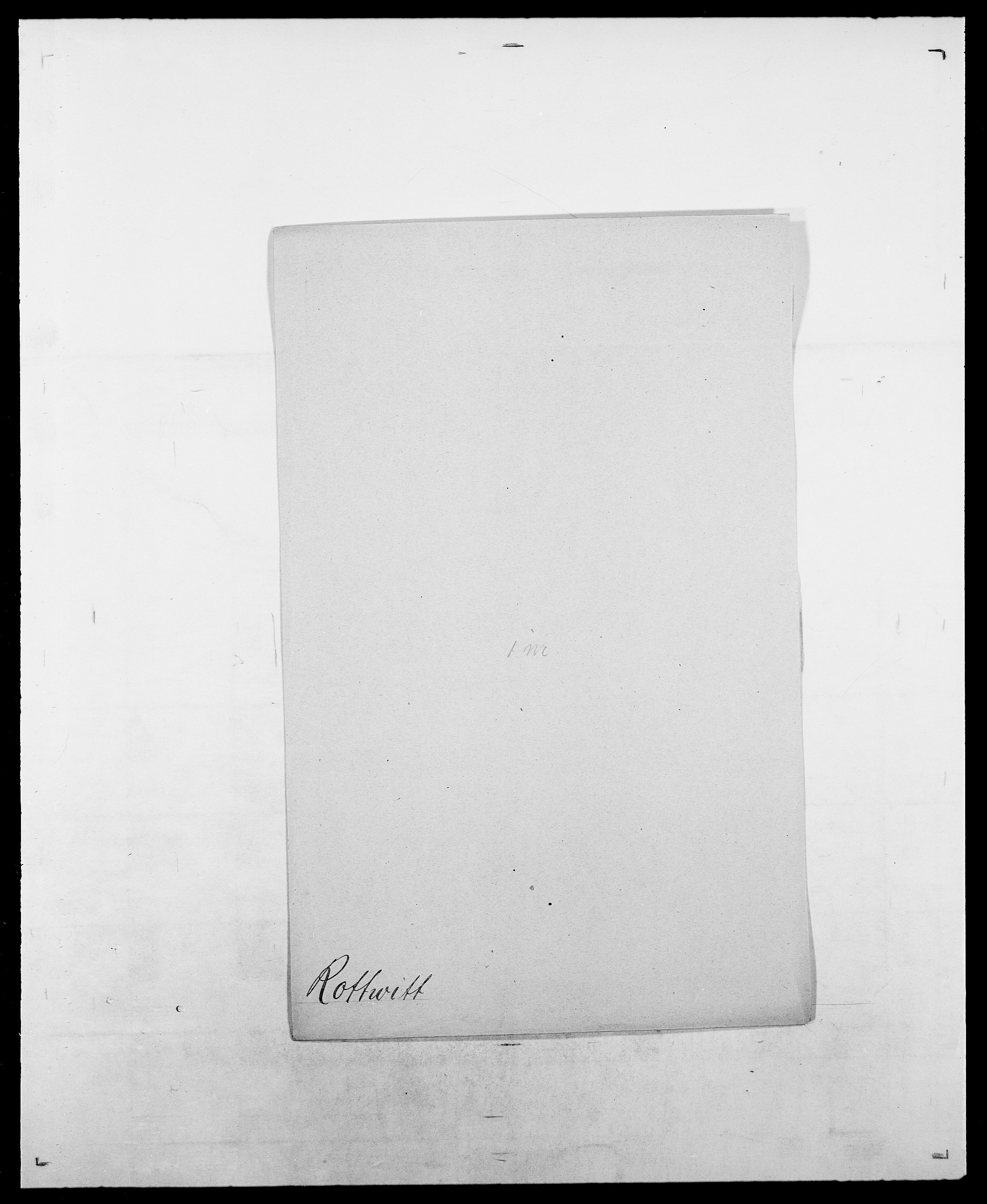 SAO, Delgobe, Charles Antoine - samling, D/Da/L0033: Roald - Røyem, s. 401