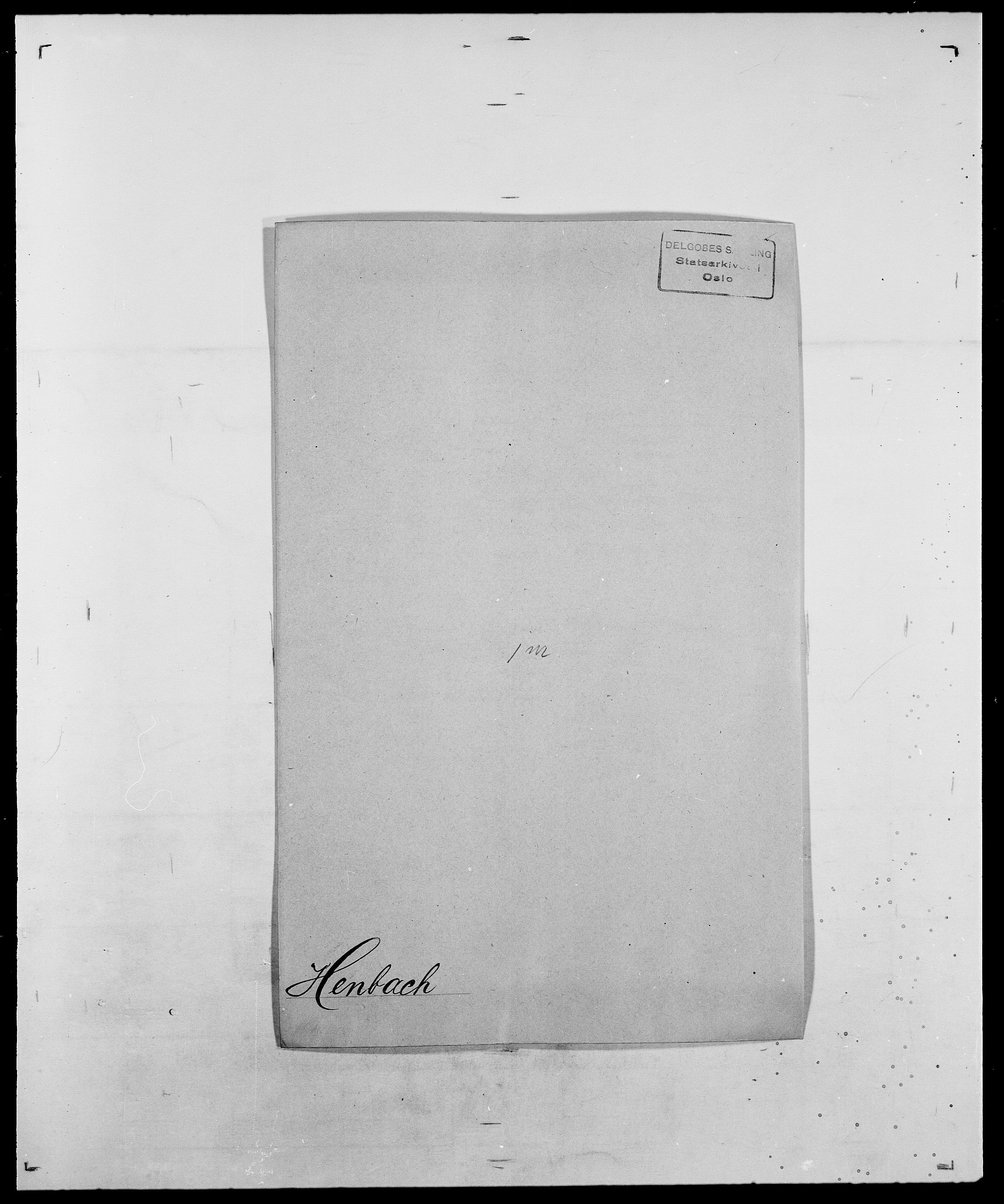 SAO, Delgobe, Charles Antoine - samling, D/Da/L0017: Helander - Hjørne, s. 169