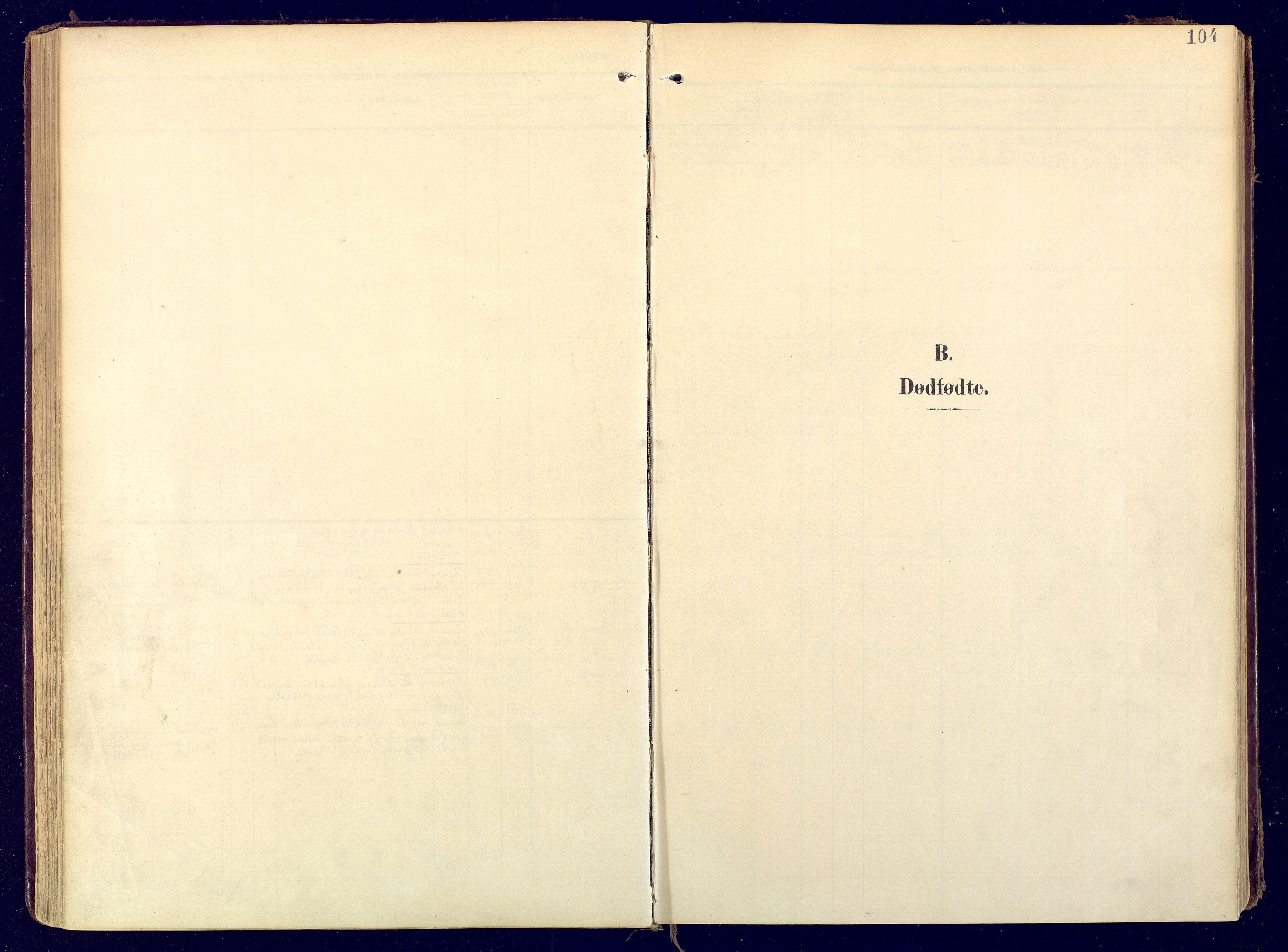 SATØ, Karasjok sokneprestkontor, H/Ha: Ministerialbok nr. 3, 1907-1926, s. 104