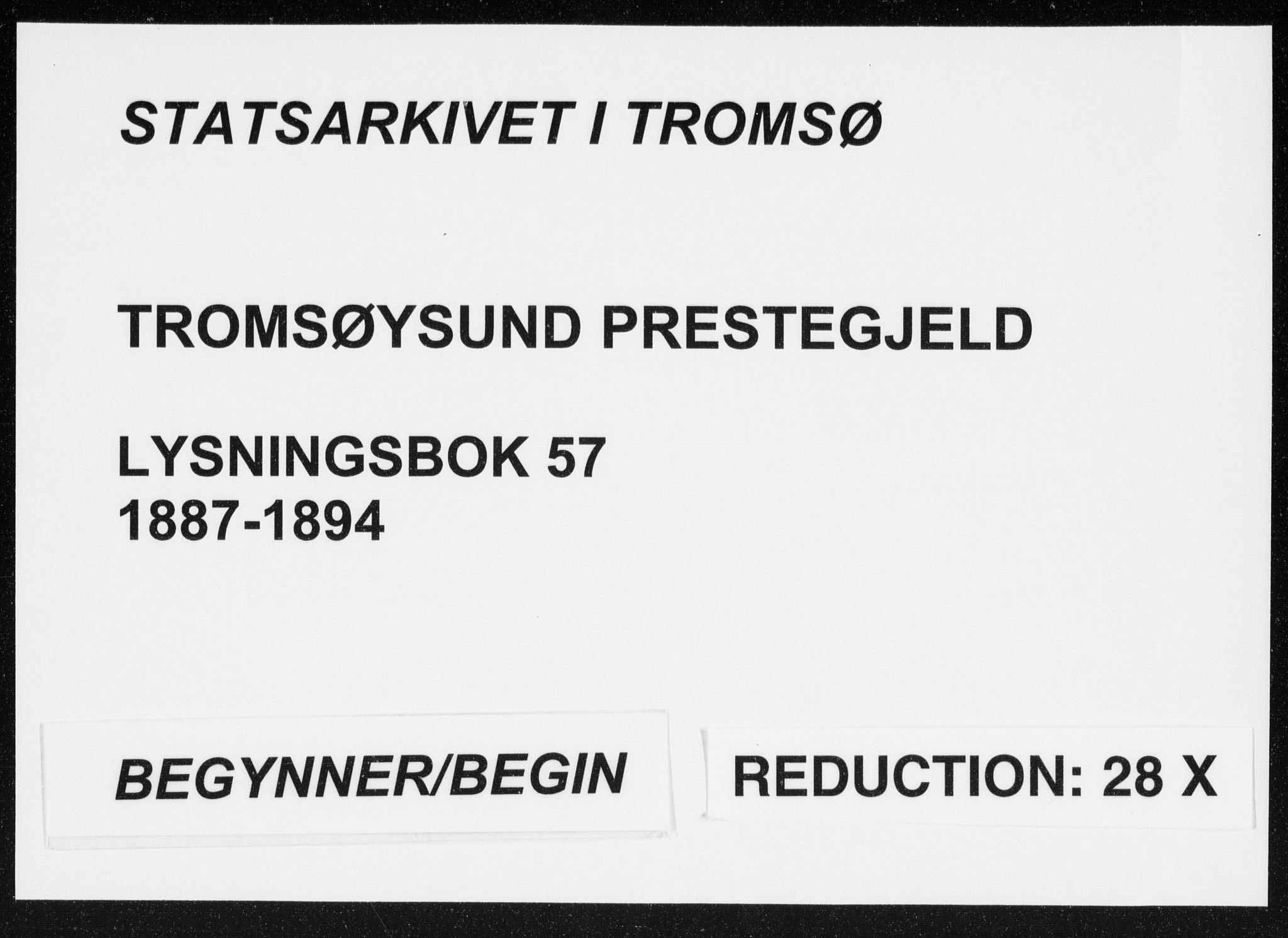 SATØ, Tromsøysund sokneprestkontor, H/Hc/L0057: Lysningsprotokoll nr. 57, 1887-1894