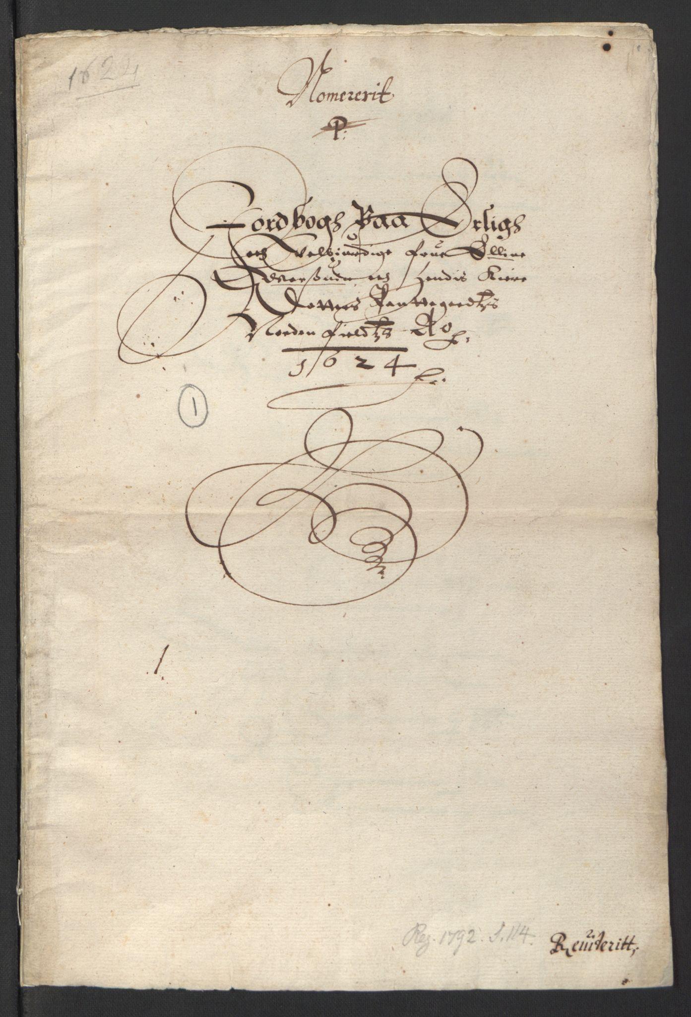 RA, Stattholderembetet 1572-1771, Ek/L0007: Jordebøker til utlikning av rosstjeneste 1624-1626:, 1624-1625, s. 211