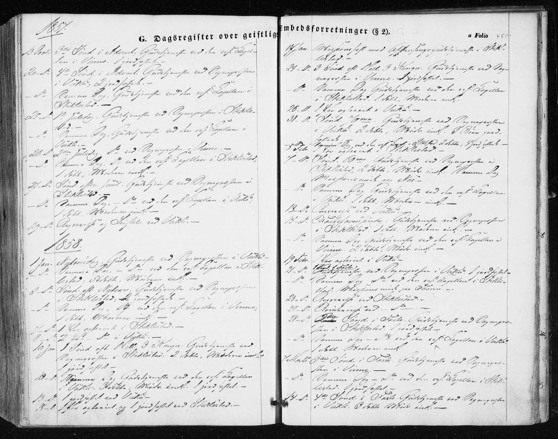 SAT, Ministerialprotokoller, klokkerbøker og fødselsregistre - Nord-Trøndelag, 723/L0240: Ministerialbok nr. 723A09, 1852-1860, s. 480