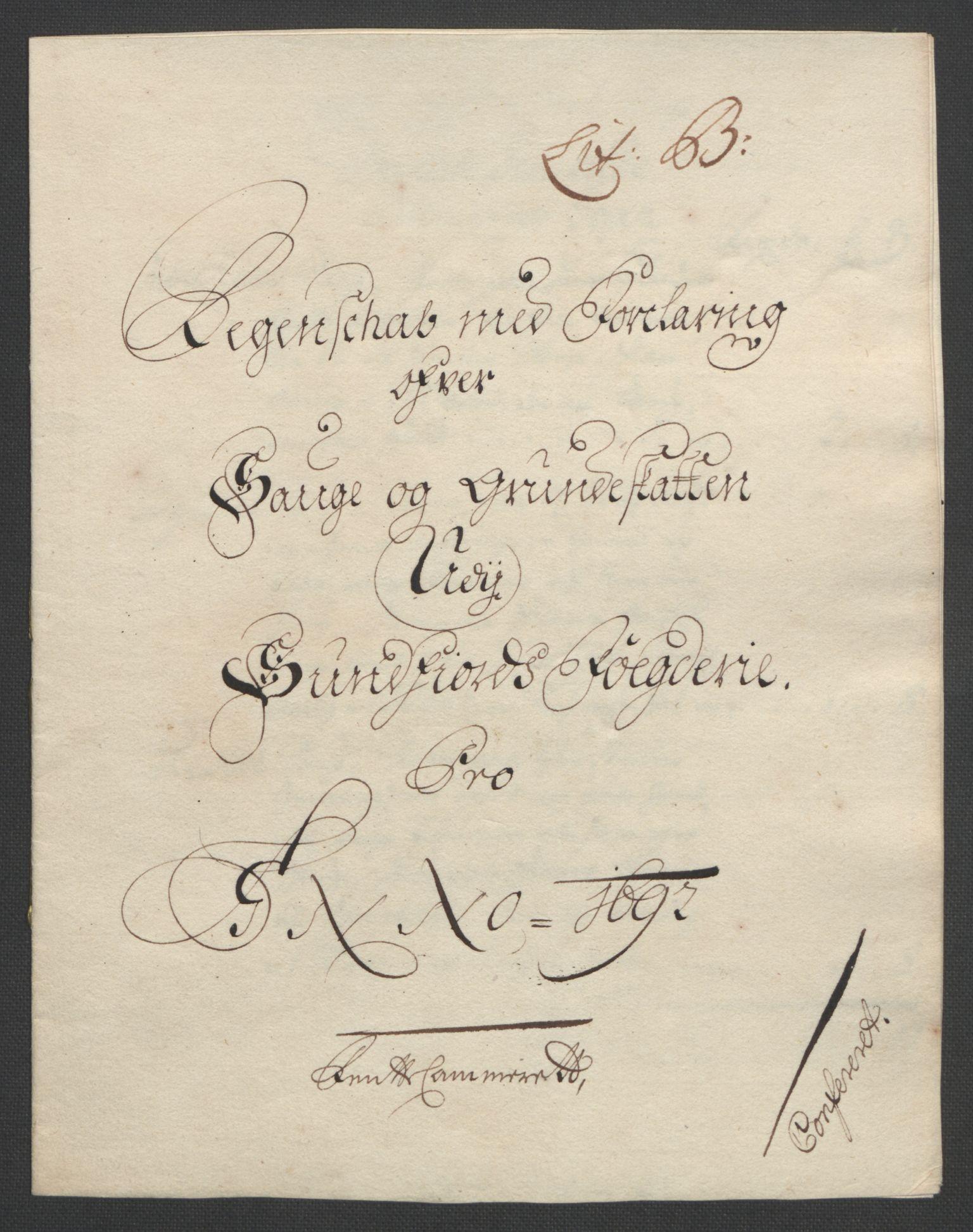 RA, Rentekammeret inntil 1814, Reviderte regnskaper, Fogderegnskap, R53/L3420: Fogderegnskap Sunn- og Nordfjord, 1691-1692, s. 201