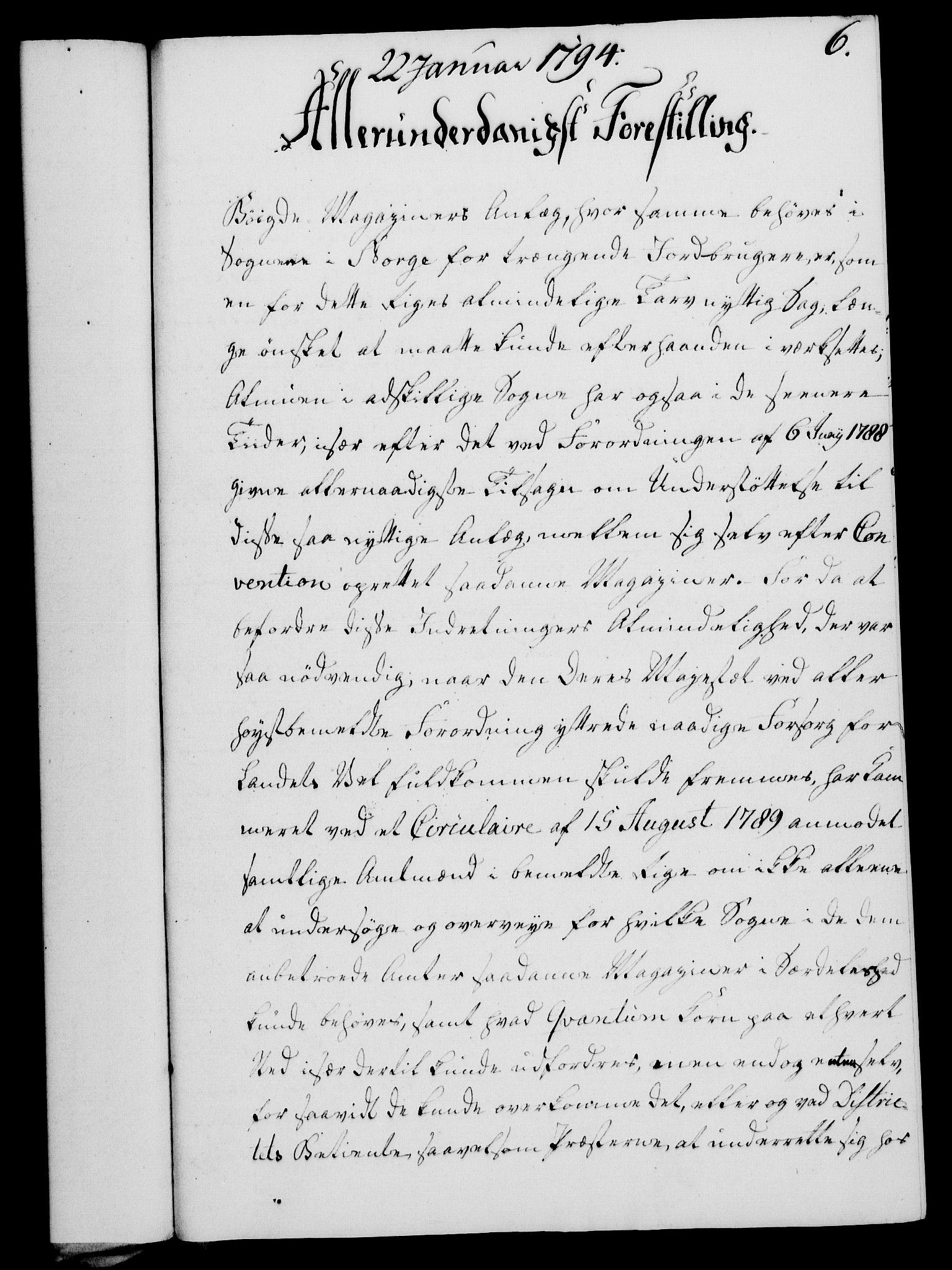 RA, Rentekammeret, Kammerkanselliet, G/Gf/Gfa/L0076: Norsk relasjons- og resolusjonsprotokoll (merket RK 52.76), 1794, s. 60