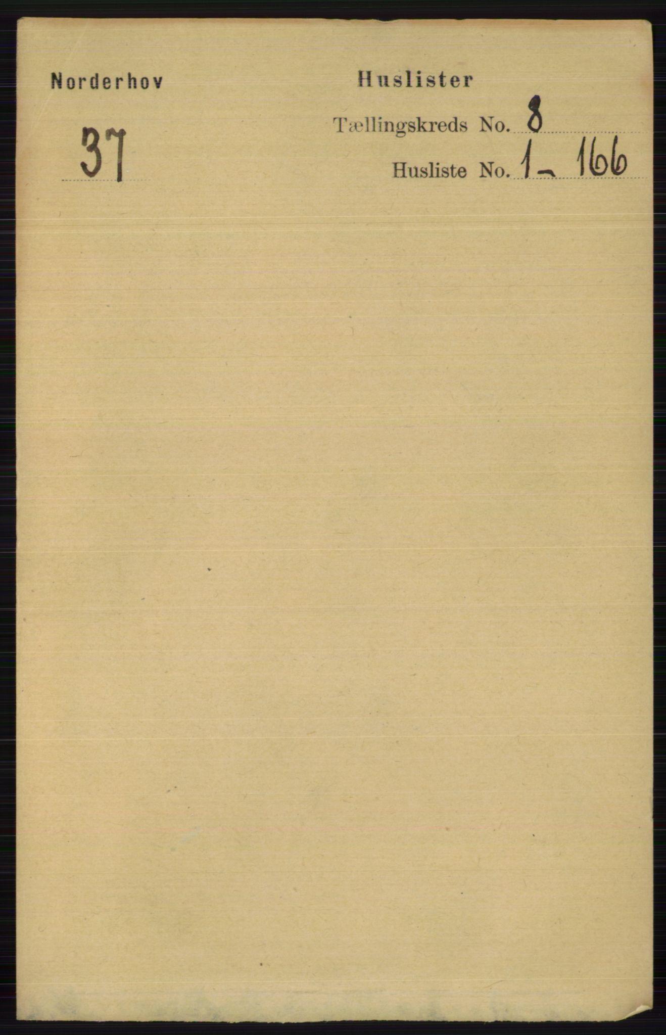 RA, Folketelling 1891 for 0613 Norderhov herred, 1891, s. 5389