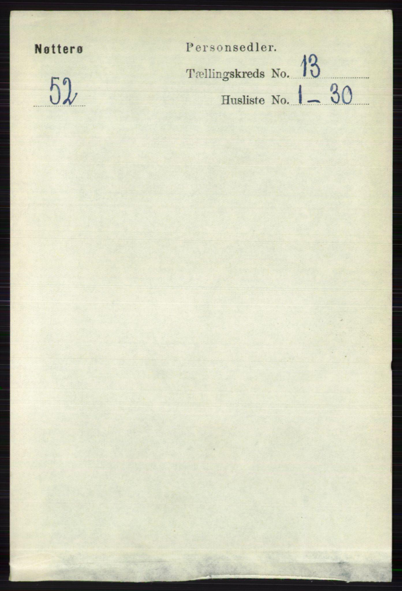 RA, Folketelling 1891 for 0722 Nøtterøy herred, 1891, s. 7018
