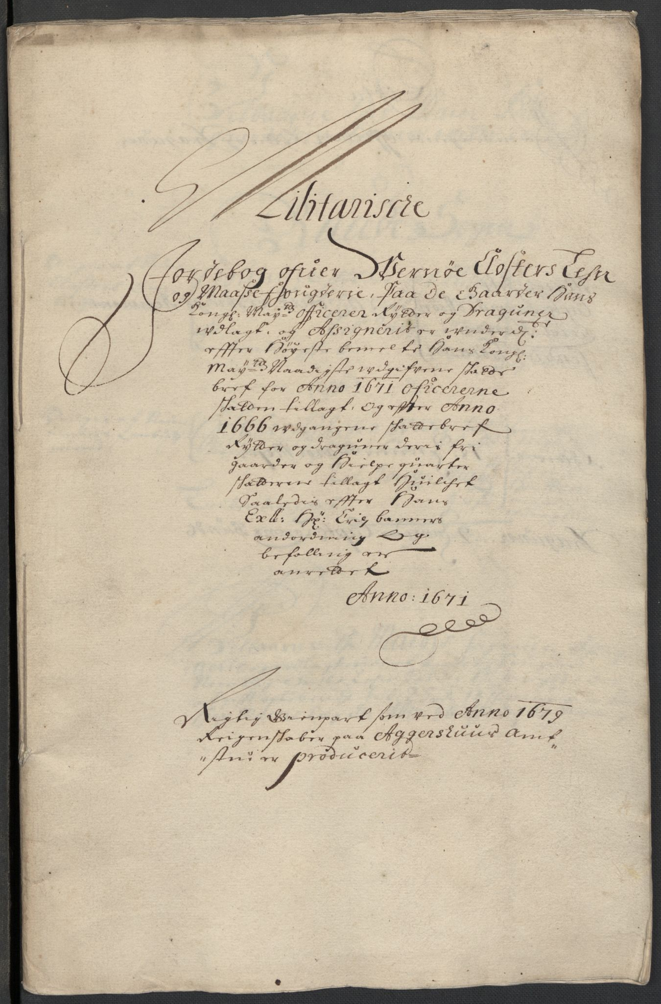 RA, Rentekammeret inntil 1814, Reviderte regnskaper, Fogderegnskap, R02/L0100: Fogderegnskap Moss og Verne kloster, 1679, s. 326