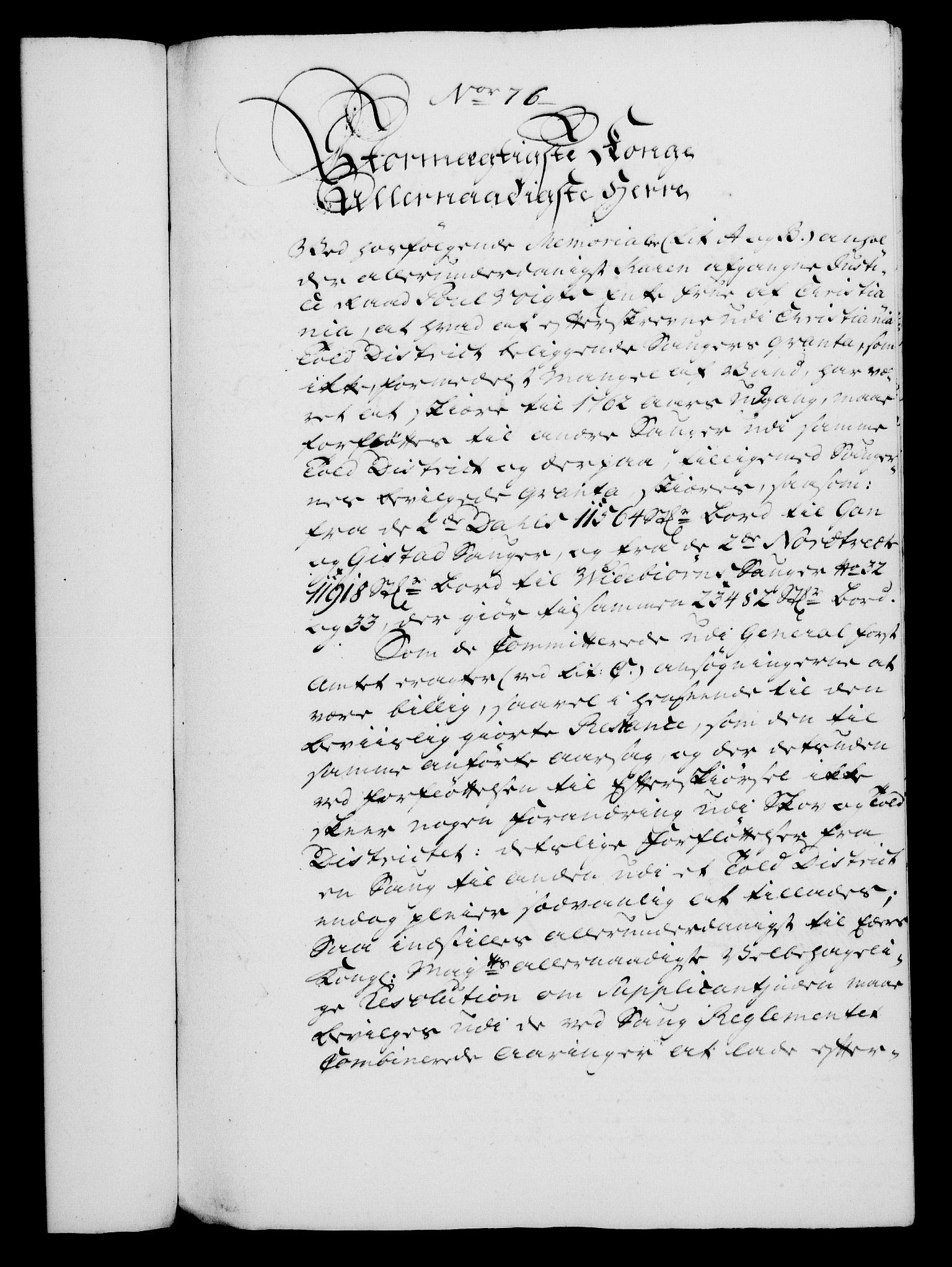 RA, Rentekammeret, Kammerkanselliet, G/Gf/Gfa/L0045: Norsk relasjons- og resolusjonsprotokoll (merket RK 52.45), 1763, s. 327