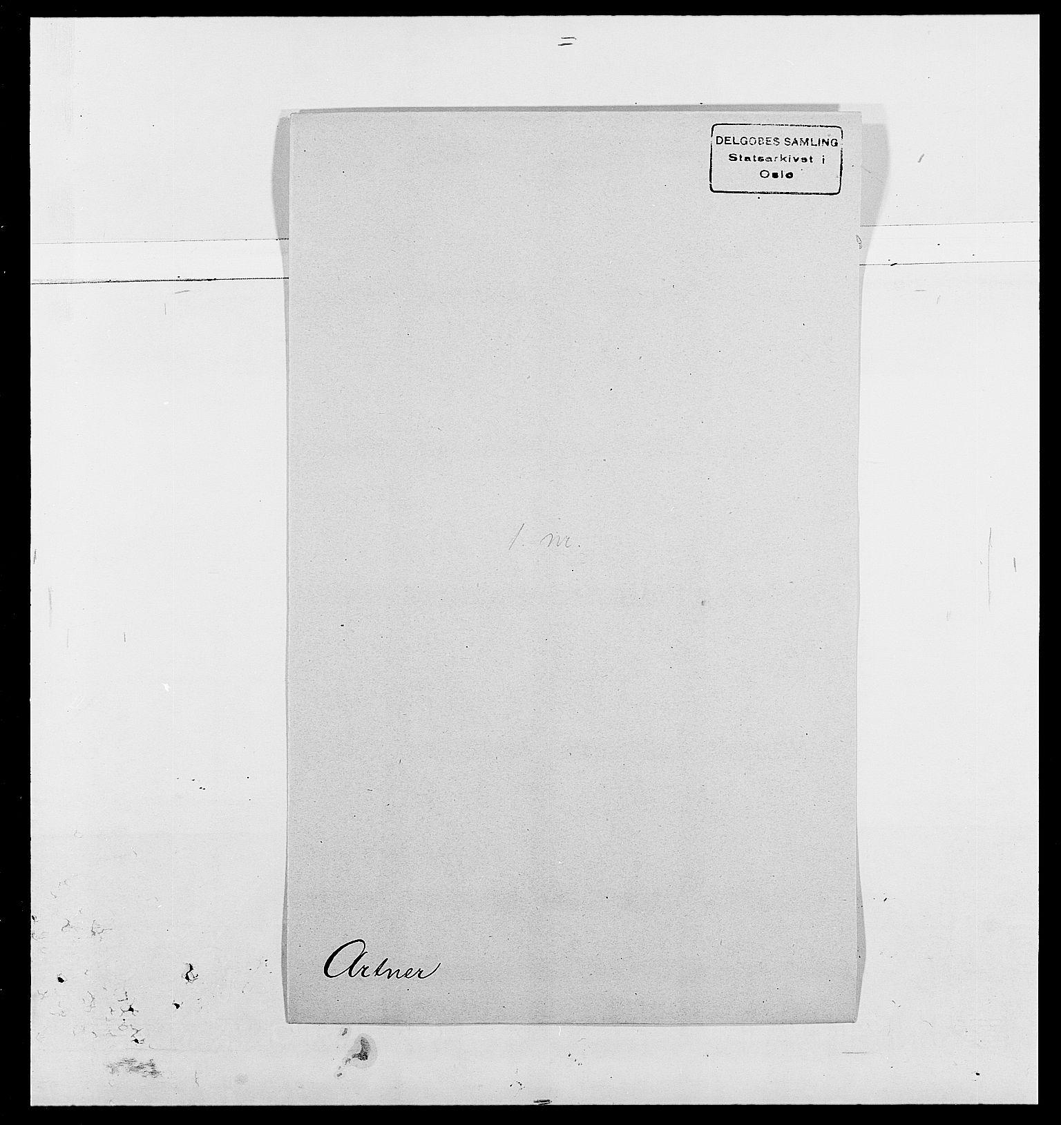 SAO, Delgobe, Charles Antoine - samling, D/Da/L0002: Anker, Ancher - Bauner, s. 373