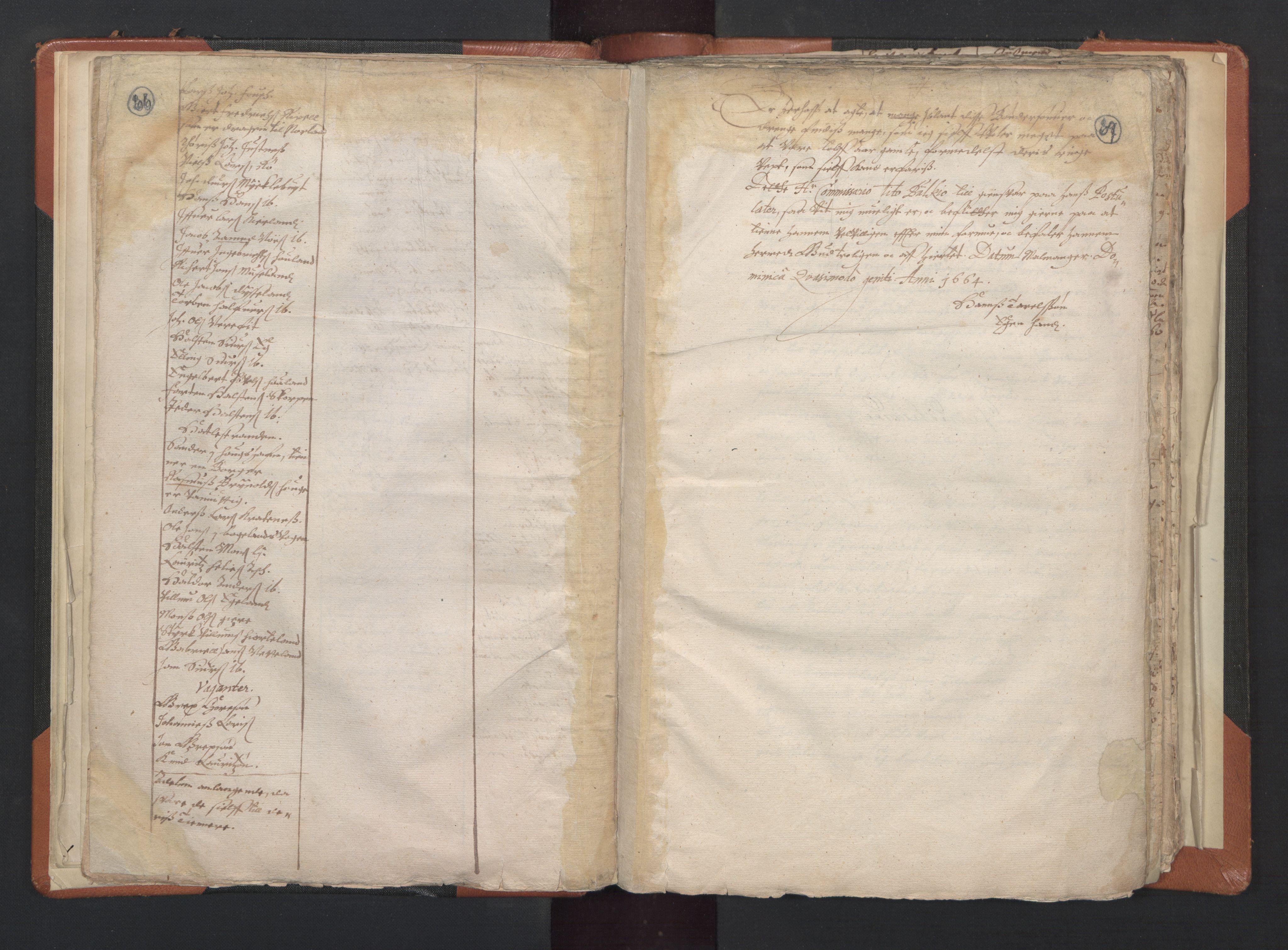 RA, Sogneprestenes manntall 1664-1666, nr. 20: Sunnhordland prosti, 1664-1666, s. 66-67