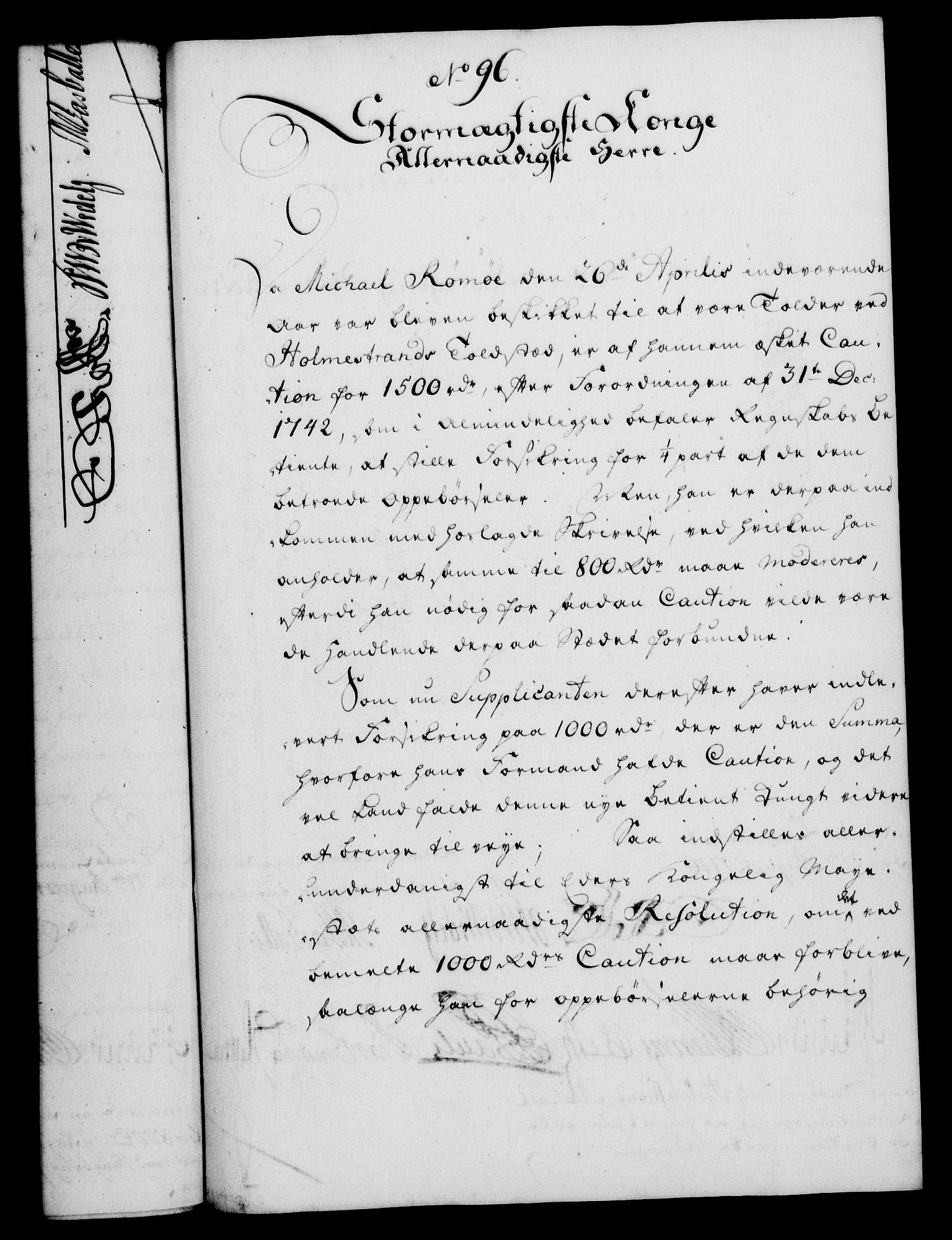 RA, Rentekammeret, Kammerkanselliet, G/Gf/Gfa/L0038: Norsk relasjons- og resolusjonsprotokoll (merket RK 52.38), 1756, s. 488