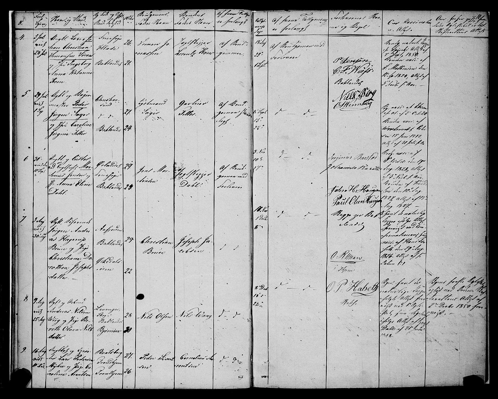 SAT, Ministerialprotokoller, klokkerbøker og fødselsregistre - Sør-Trøndelag, 604/L0187: Ministerialbok nr. 604A08, 1847-1878, s. 10