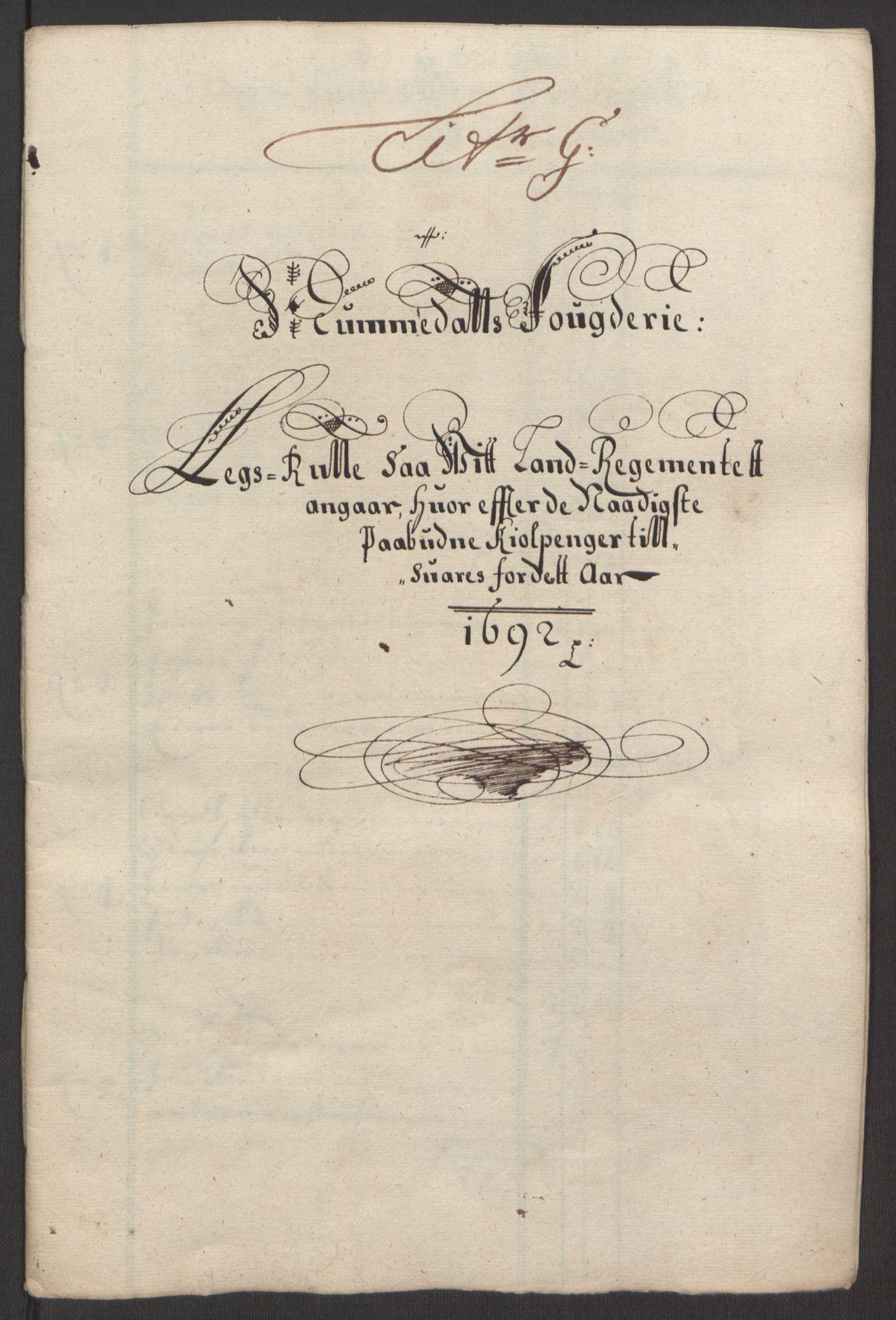 RA, Rentekammeret inntil 1814, Reviderte regnskaper, Fogderegnskap, R64/L4424: Fogderegnskap Namdal, 1692-1695, s. 40
