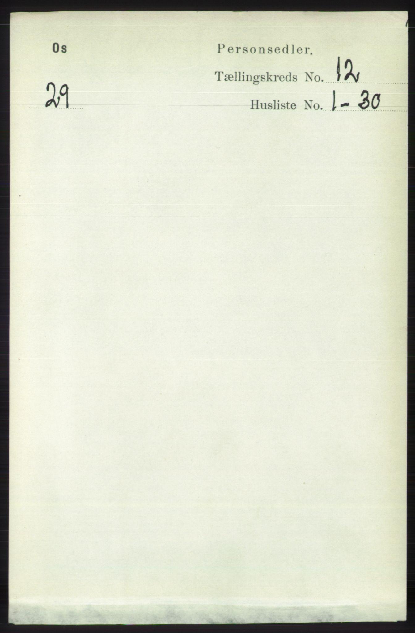 RA, Folketelling 1891 for 1243 Os herred, 1891, s. 2728
