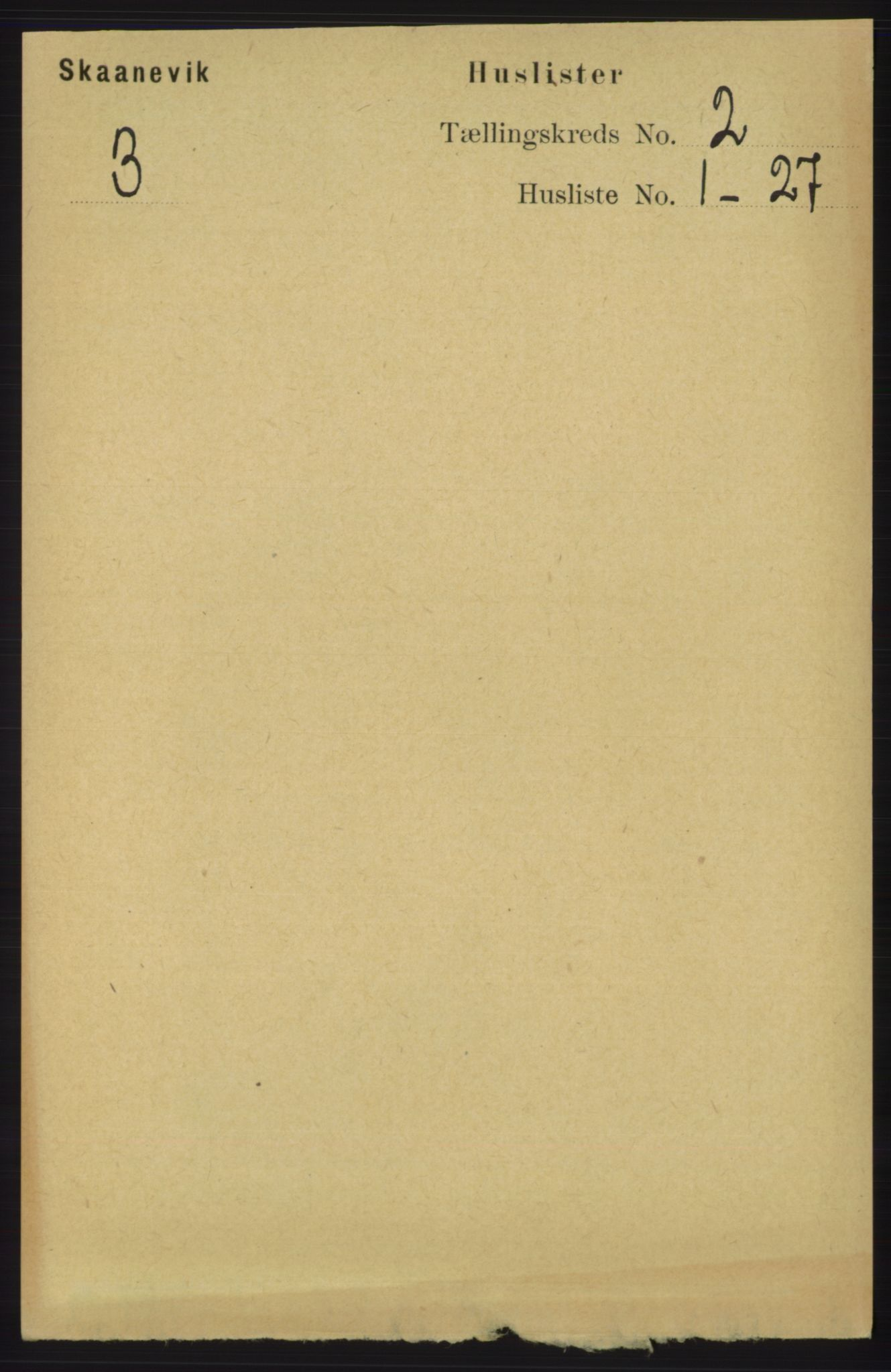 RA, Folketelling 1891 for 1212 Skånevik herred, 1891, s. 292