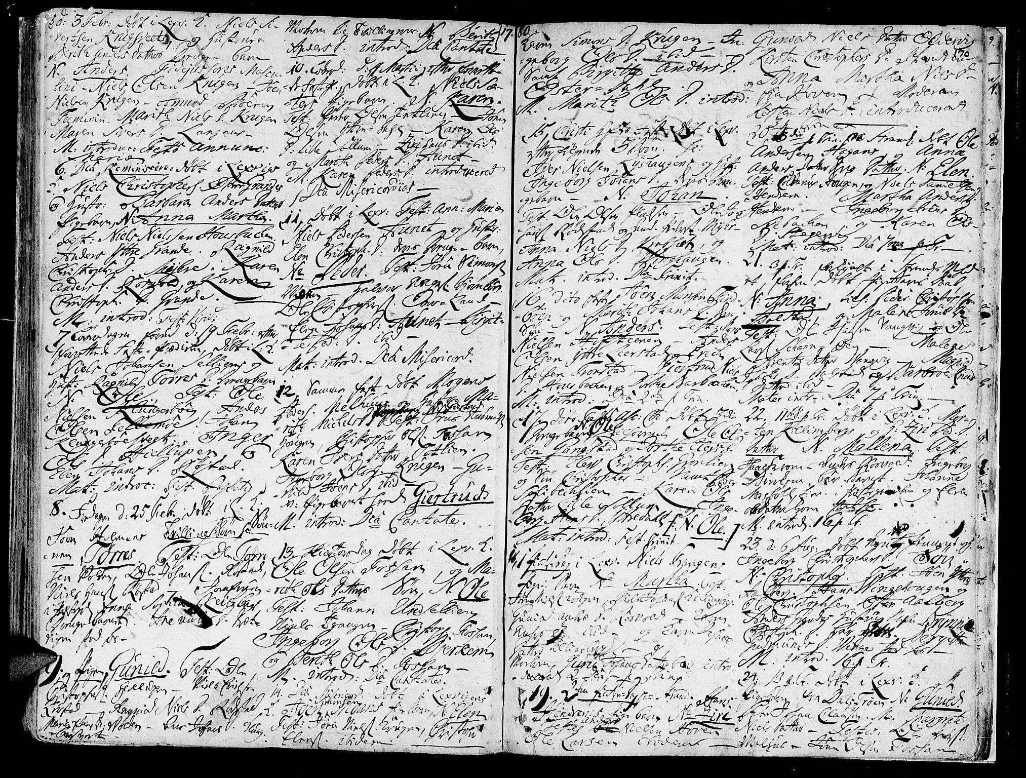 SAT, Ministerialprotokoller, klokkerbøker og fødselsregistre - Nord-Trøndelag, 701/L0003: Ministerialbok nr. 701A03, 1751-1783, s. 170