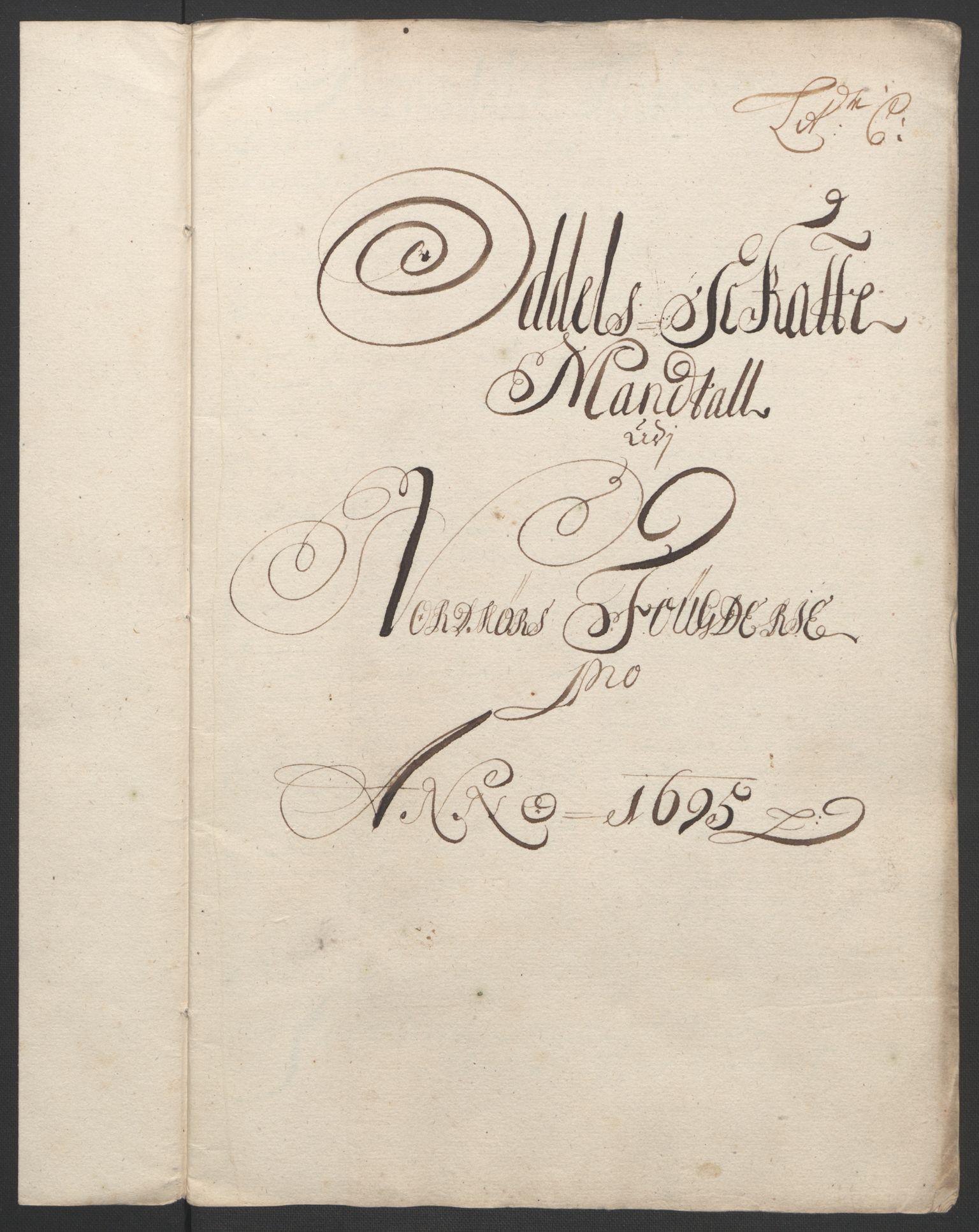 RA, Rentekammeret inntil 1814, Reviderte regnskaper, Fogderegnskap, R56/L3736: Fogderegnskap Nordmøre, 1694-1696, s. 255
