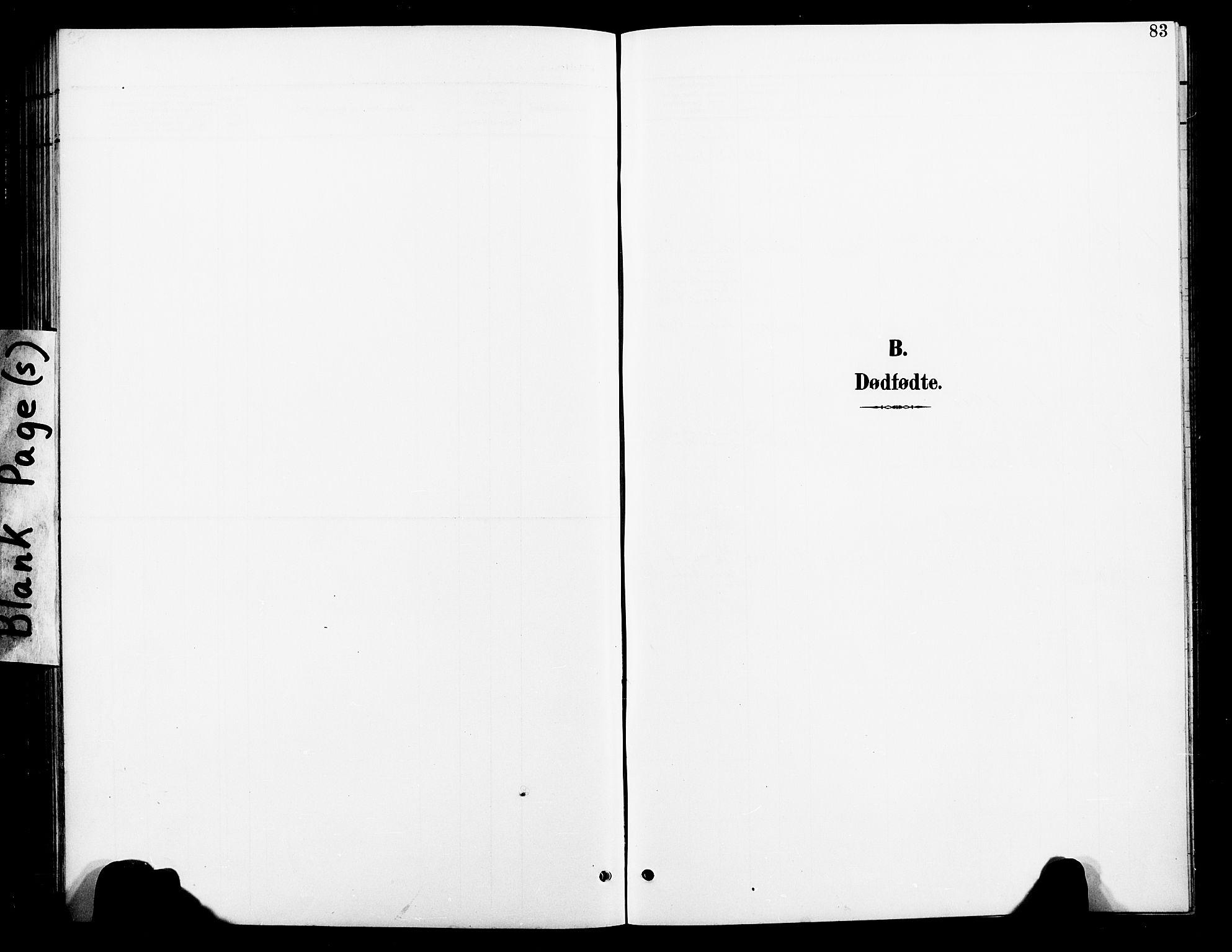 SAT, Ministerialprotokoller, klokkerbøker og fødselsregistre - Nord-Trøndelag, 739/L0375: Klokkerbok nr. 739C03, 1898-1908, s. 83