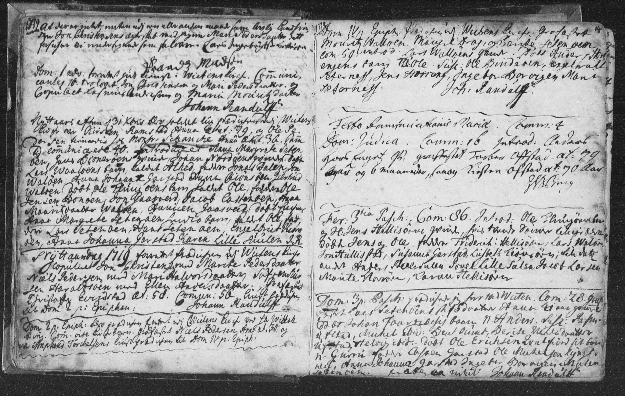 SAT, Ministerialprotokoller, klokkerbøker og fødselsregistre - Nord-Trøndelag, 786/L0685: Ministerialbok nr. 786A01, 1710-1798, s. 14