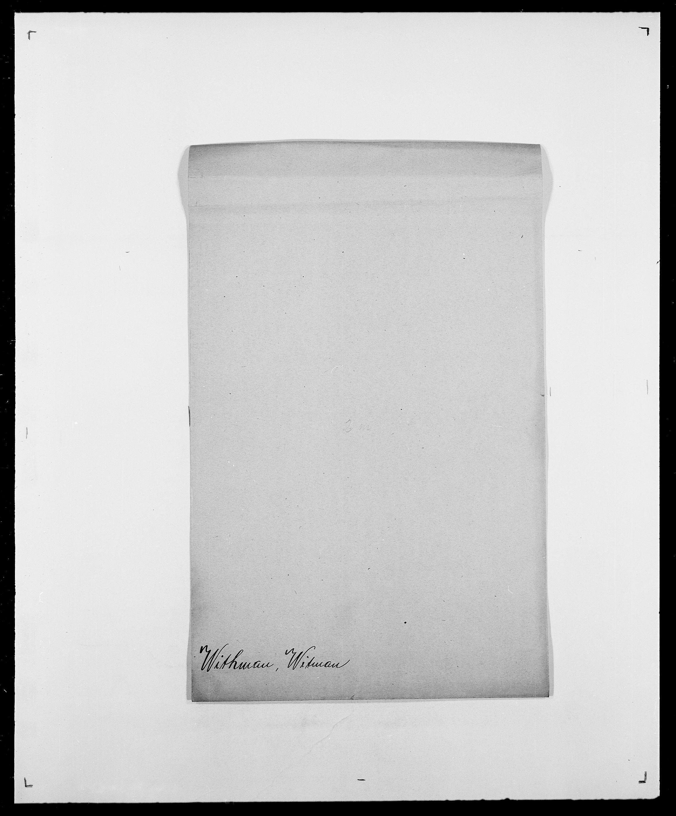 SAO, Delgobe, Charles Antoine - samling, D/Da/L0042: Vilain - Wulf, Wulff, se også Wolf, s. 489