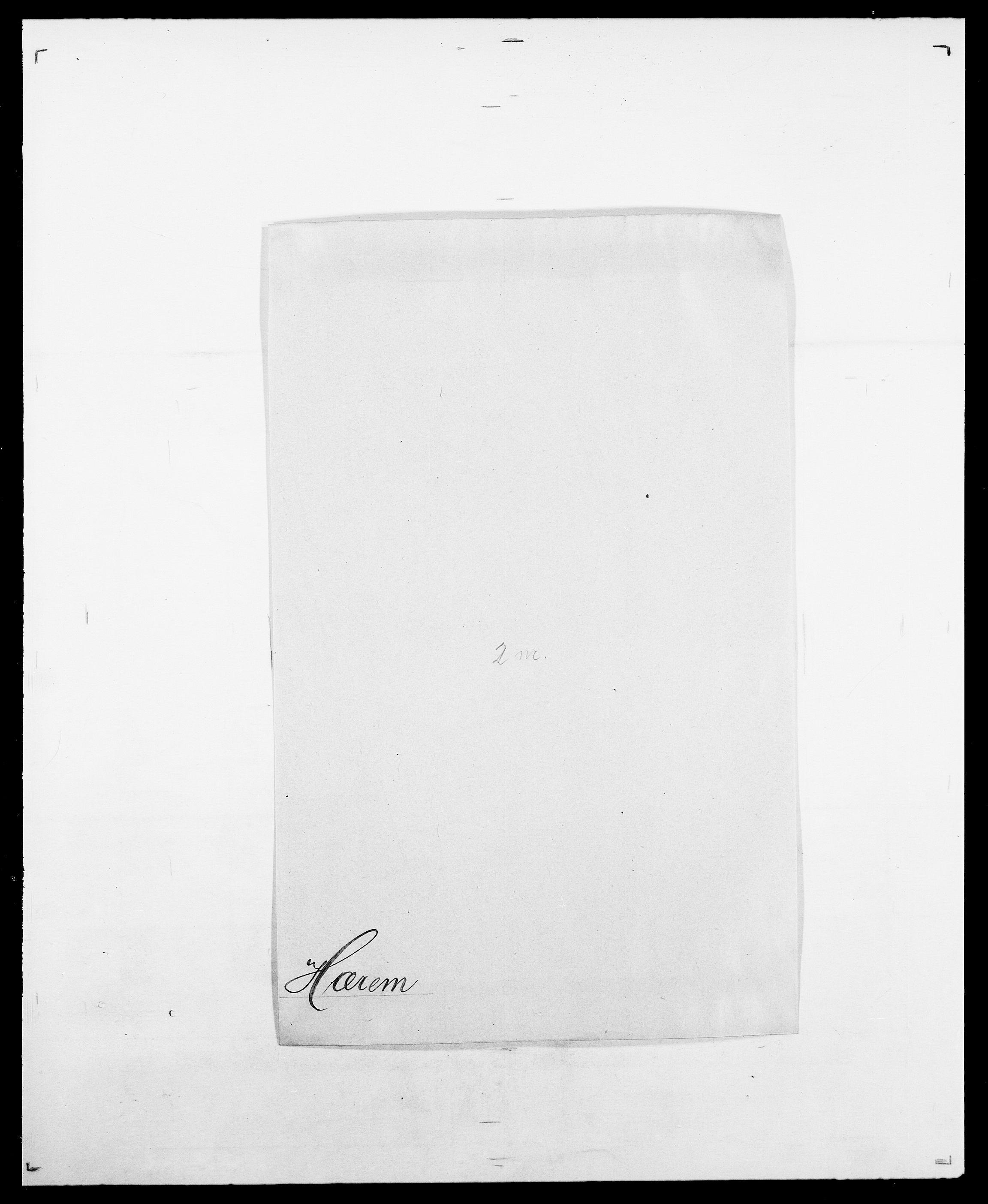 SAO, Delgobe, Charles Antoine - samling, D/Da/L0019: van der Hude - Joys, s. 307