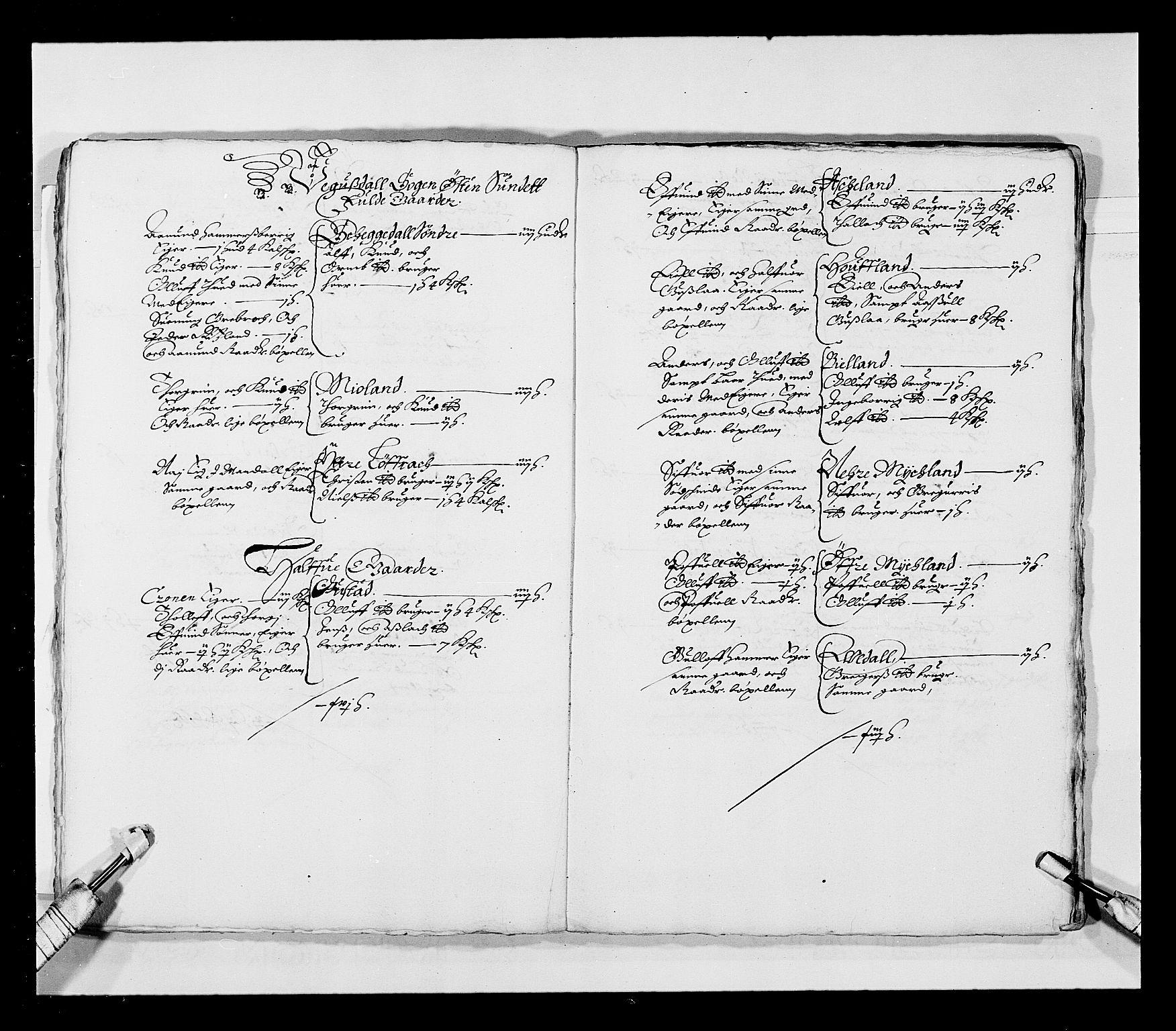 RA, Stattholderembetet 1572-1771, Ek/L0023: Jordebøker 1633-1658:, 1648-1649, s. 11