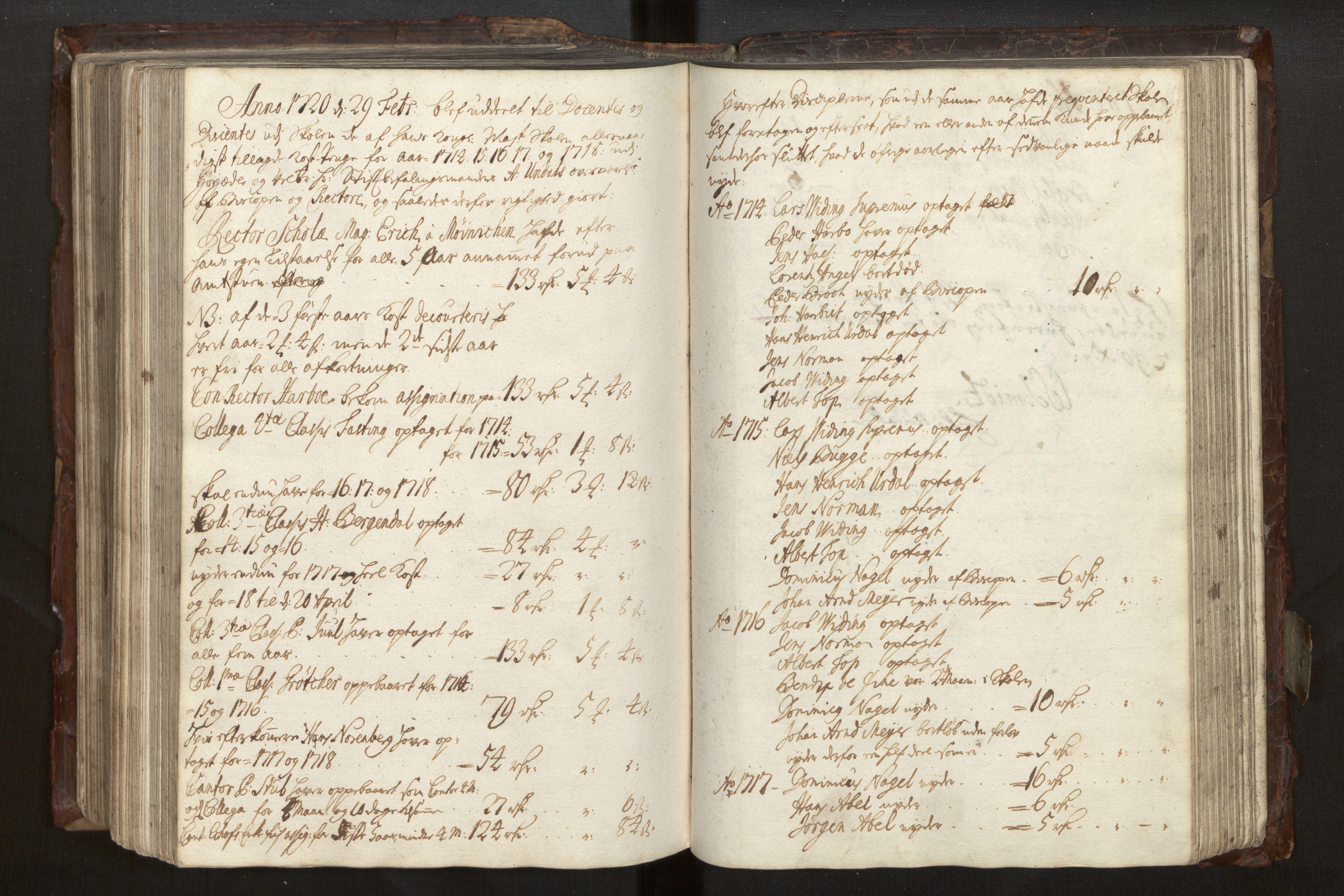 SAB, Bjørgvin biskop, Ga/L0014: Jordebøker for geistleg gods og andre rekneskapsprotokollar, 1609-1737