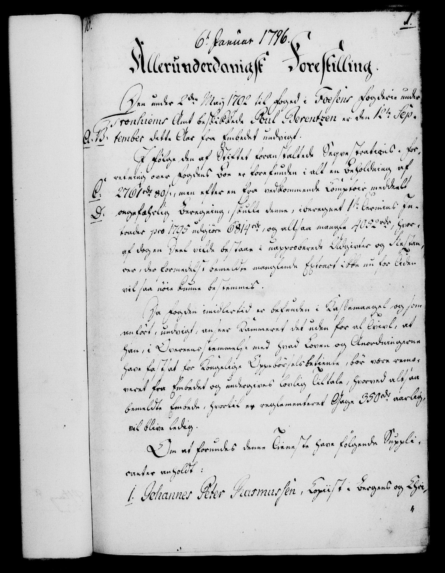 RA, Rentekammeret, Kammerkanselliet, G/Gf/Gfa/L0078: Norsk relasjons- og resolusjonsprotokoll (merket RK 52.78), 1796, s. 27