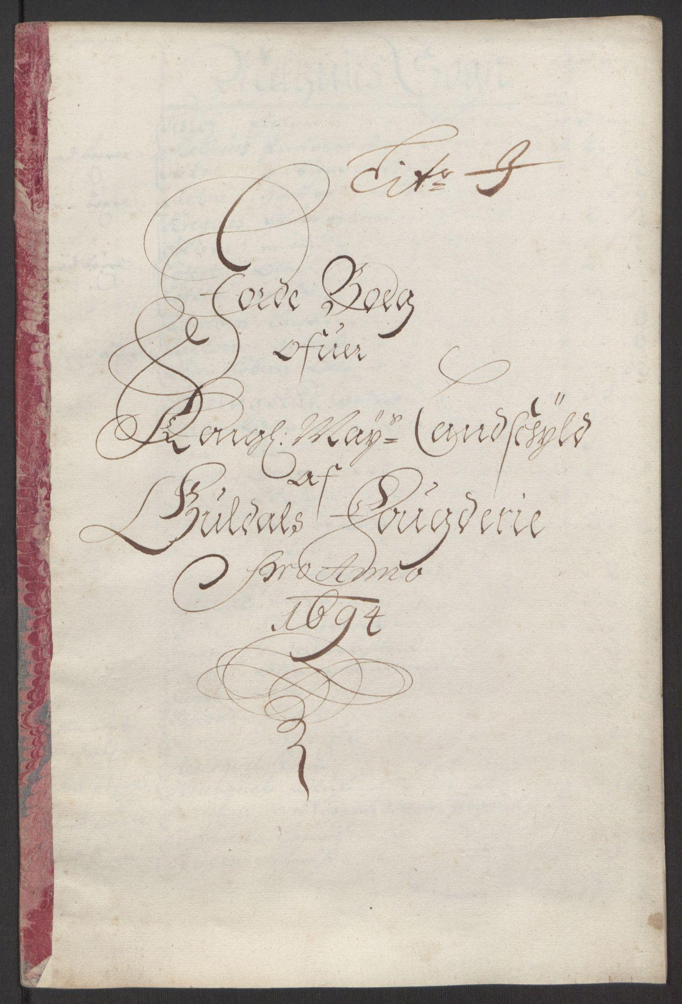 RA, Rentekammeret inntil 1814, Reviderte regnskaper, Fogderegnskap, R60/L3944: Fogderegnskap Orkdal og Gauldal, 1694, s. 379