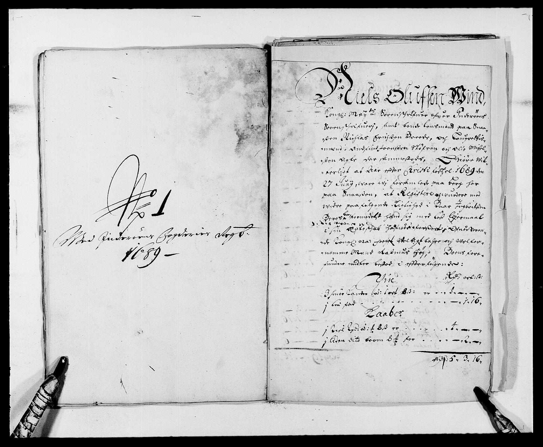 RA, Rentekammeret inntil 1814, Reviderte regnskaper, Fogderegnskap, R63/L4306: Fogderegnskap Inderøy, 1687-1689, s. 503