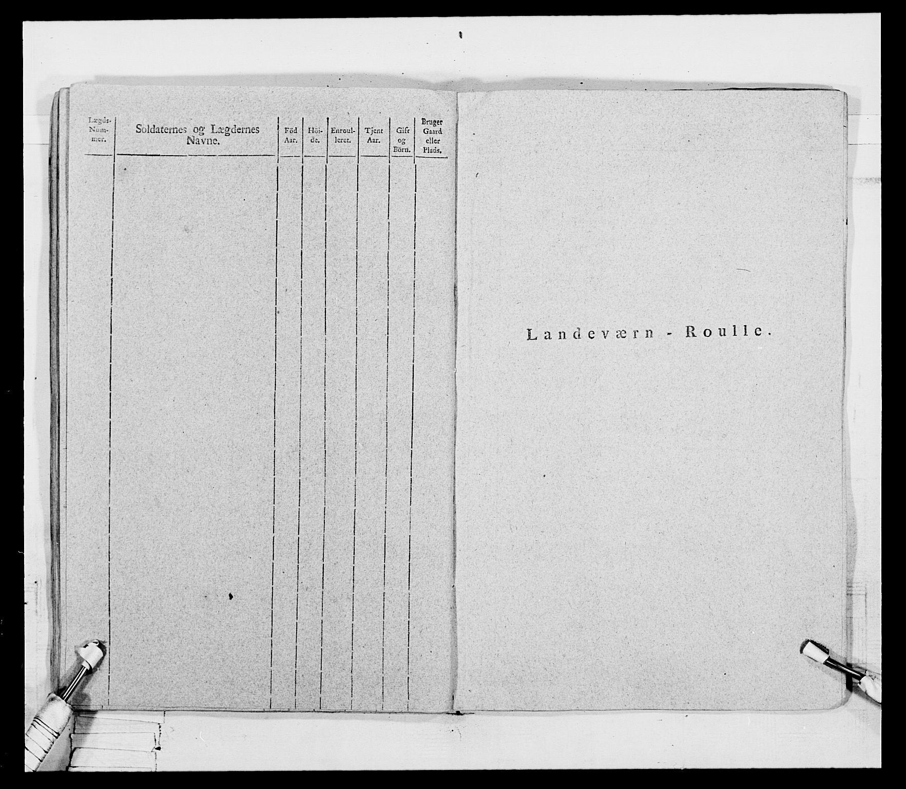 RA, Generalitets- og kommissariatskollegiet, Det kongelige norske kommissariatskollegium, E/Eh/L0069: Opplandske gevorbne infanteriregiment, 1810-1818, s. 37