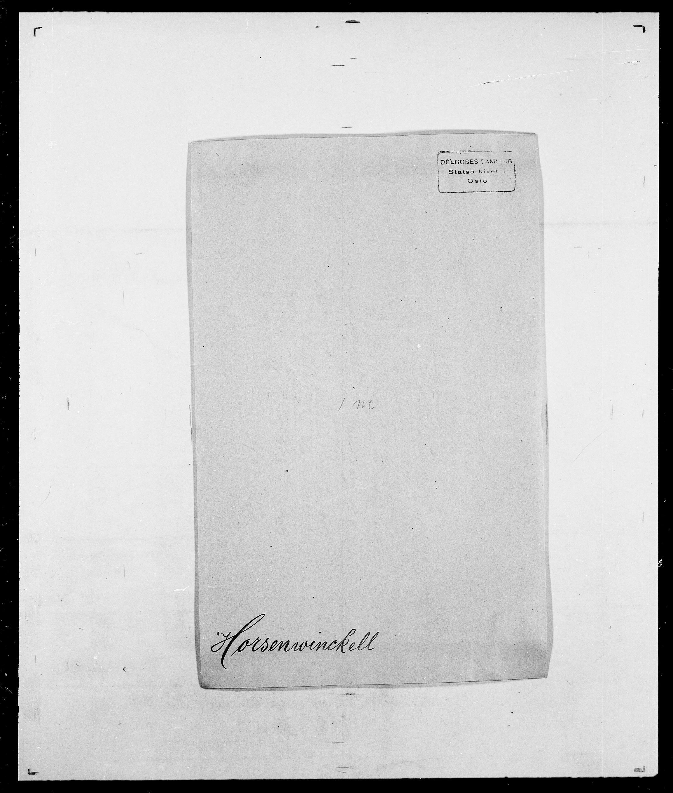 SAO, Delgobe, Charles Antoine - samling, D/Da/L0018: Hoch - Howert, s. 982