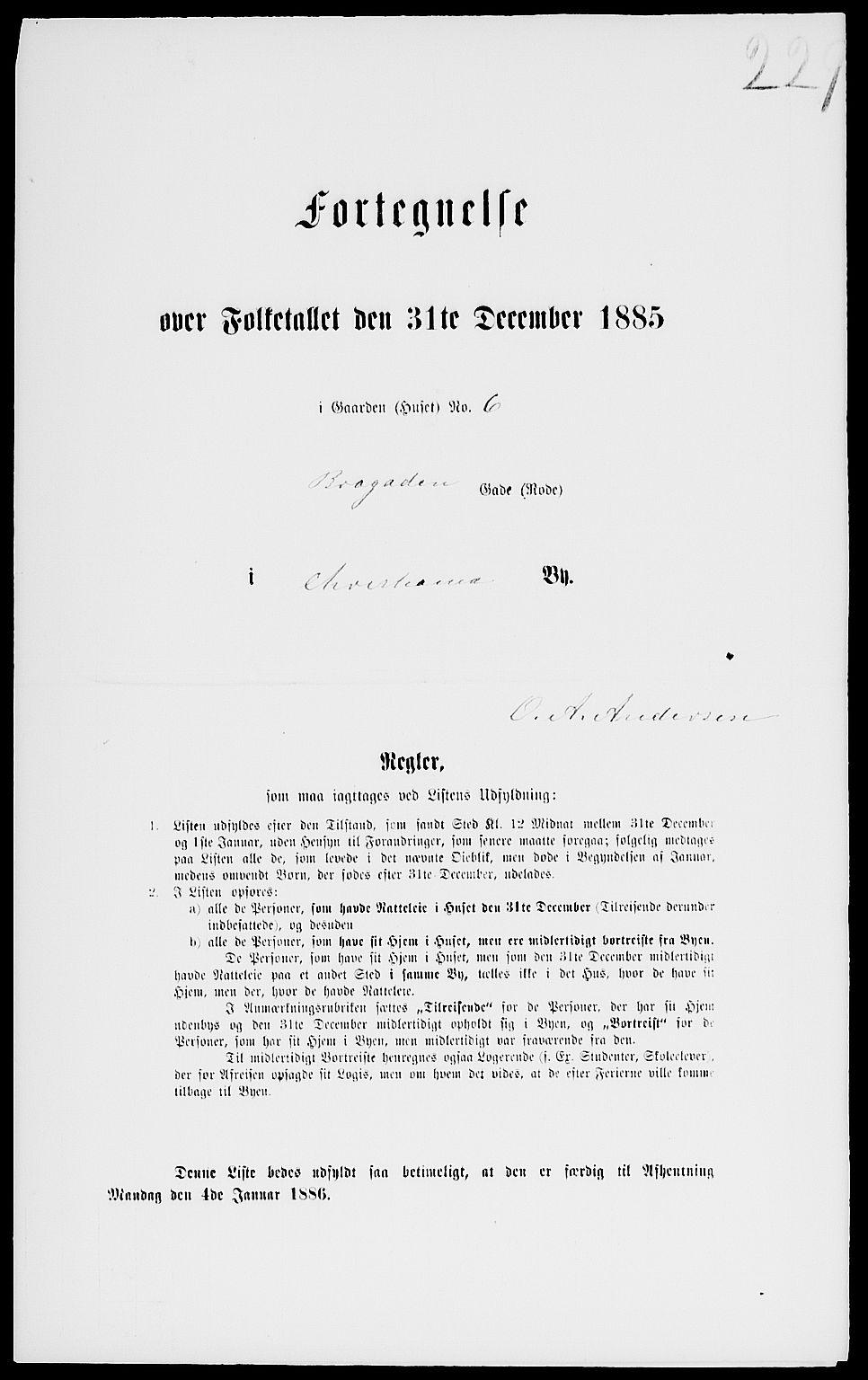 RA, Folketelling 1885 for 0301 Kristiania kjøpstad, 1885, s. 7761
