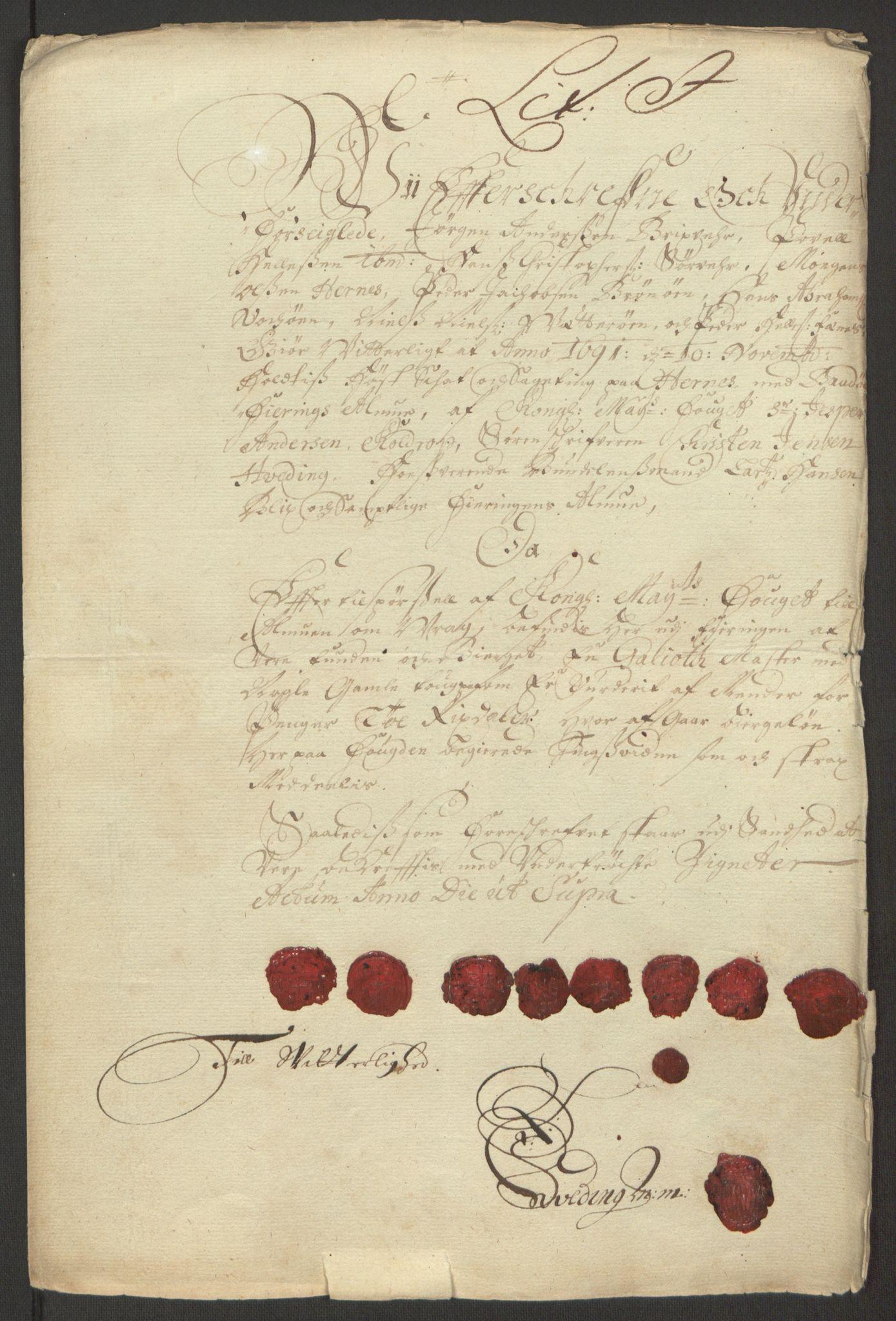 RA, Rentekammeret inntil 1814, Reviderte regnskaper, Fogderegnskap, R66/L4577: Fogderegnskap Salten, 1691-1693, s. 106
