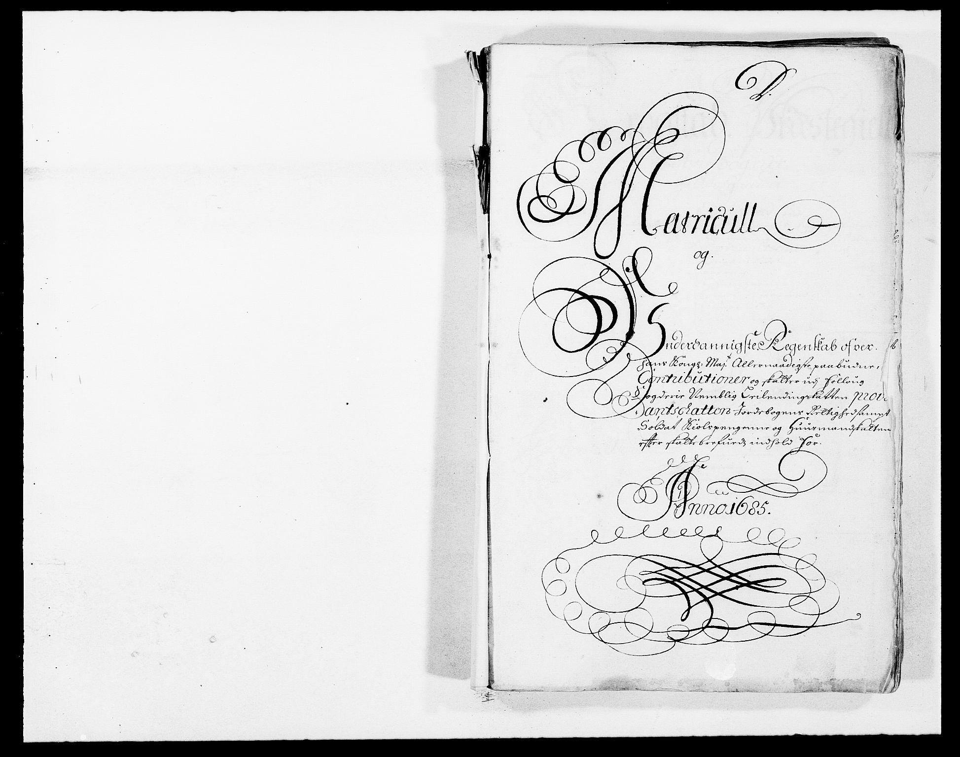 RA, Rentekammeret inntil 1814, Reviderte regnskaper, Fogderegnskap, R09/L0433: Fogderegnskap Follo, 1685-1686, s. 11