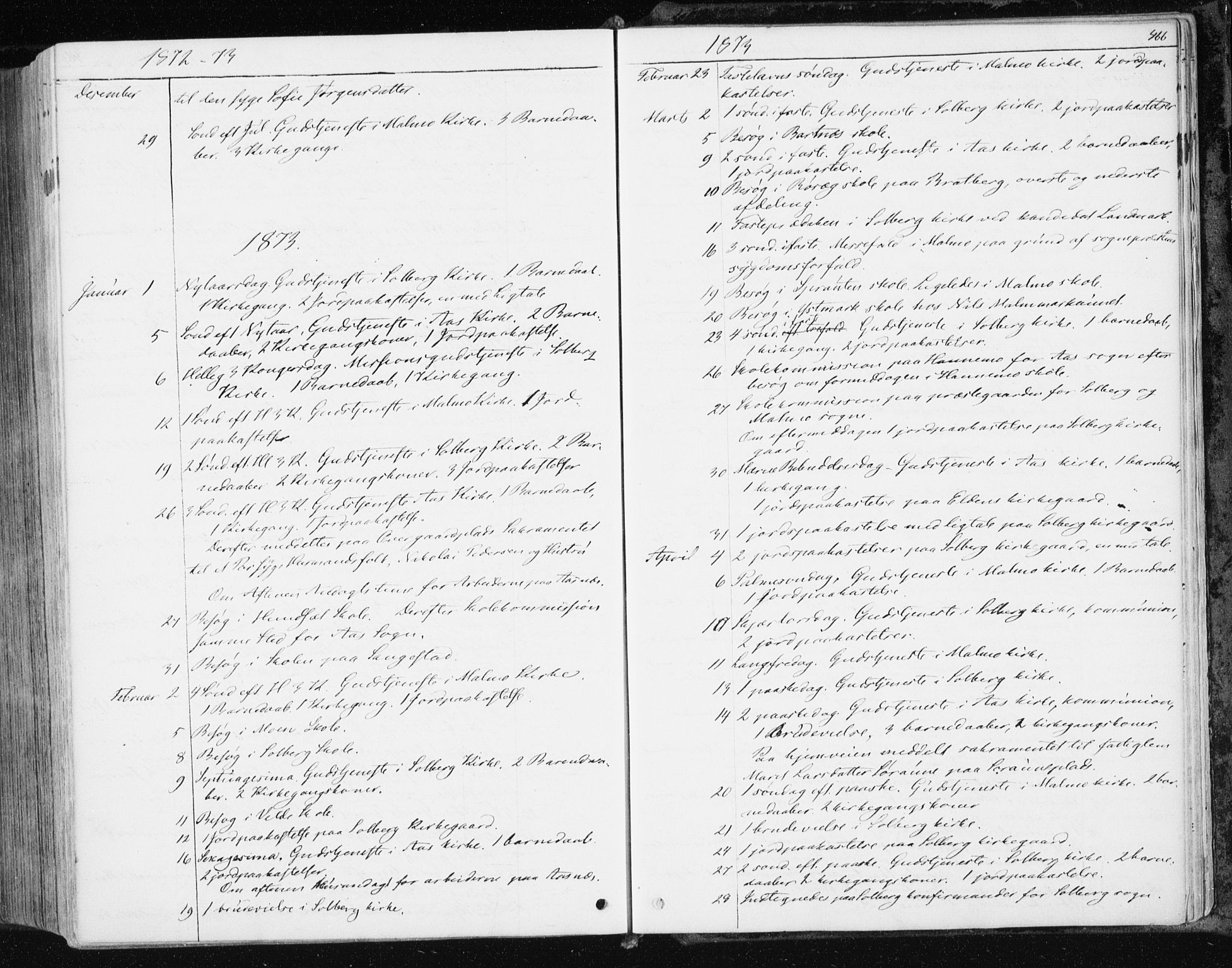 SAT, Ministerialprotokoller, klokkerbøker og fødselsregistre - Nord-Trøndelag, 741/L0394: Ministerialbok nr. 741A08, 1864-1877, s. 466