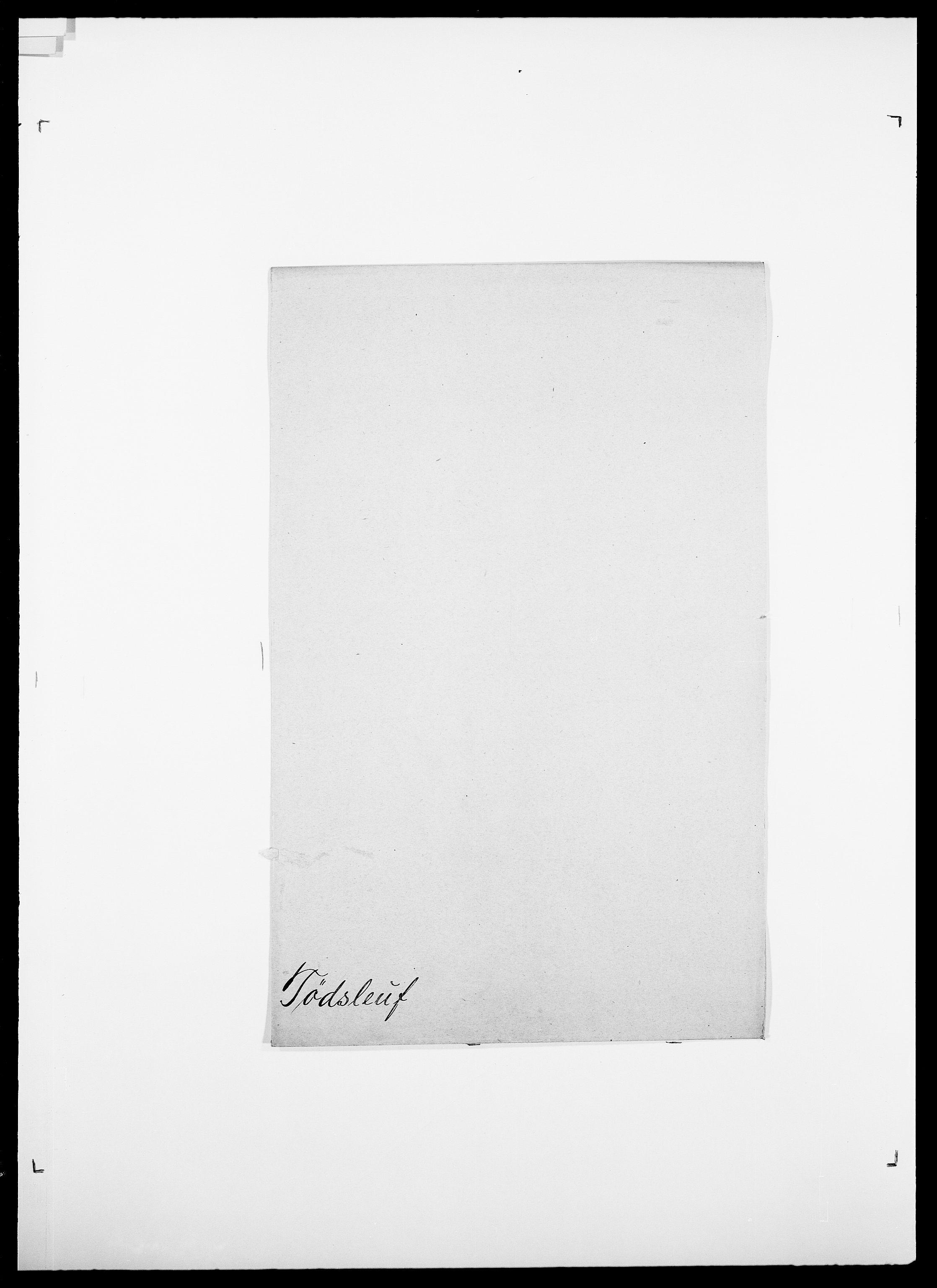 SAO, Delgobe, Charles Antoine - samling, D/Da/L0039: Thorsen - Urup, s. 530
