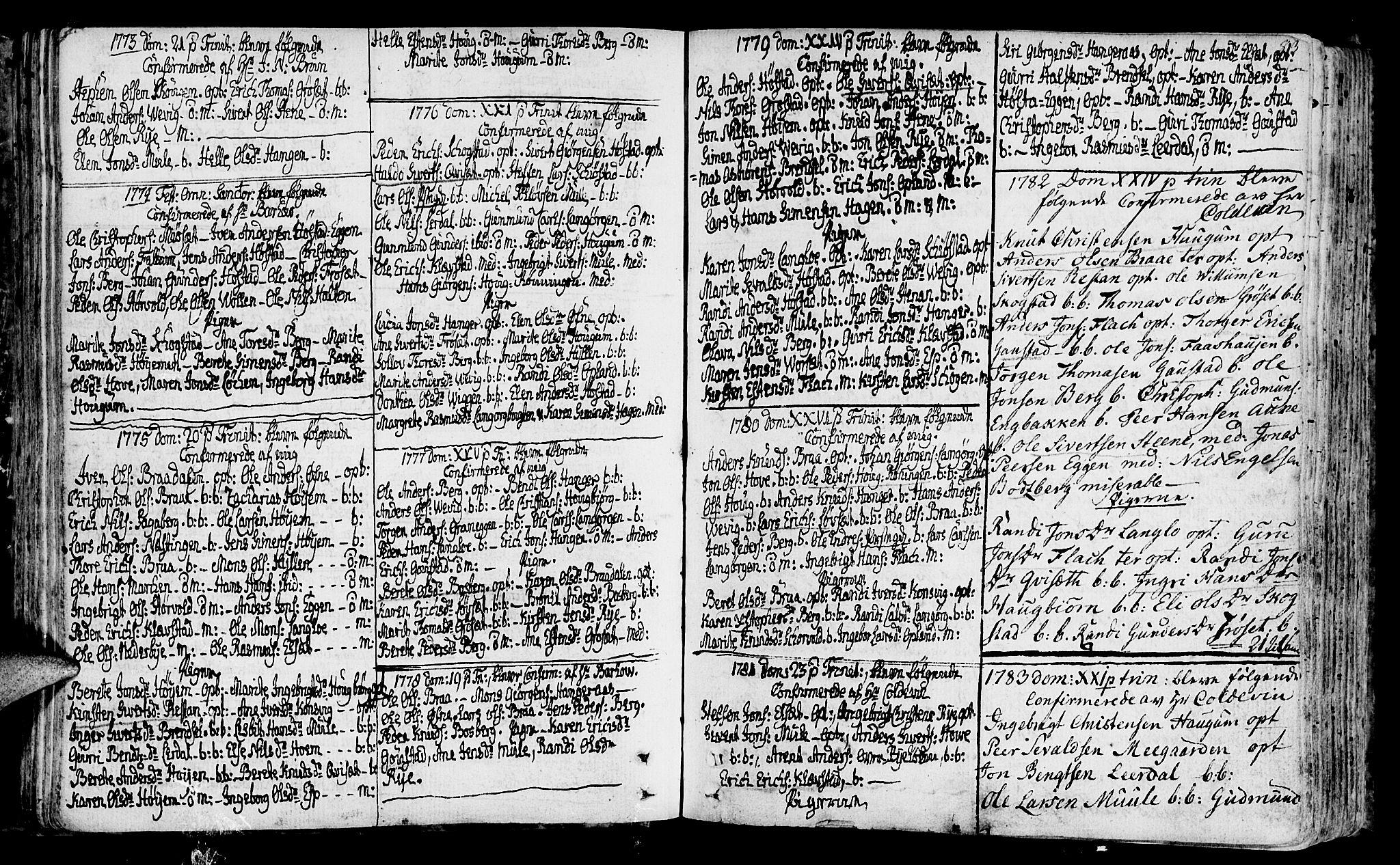 SAT, Ministerialprotokoller, klokkerbøker og fødselsregistre - Sør-Trøndelag, 612/L0370: Ministerialbok nr. 612A04, 1754-1802, s. 83