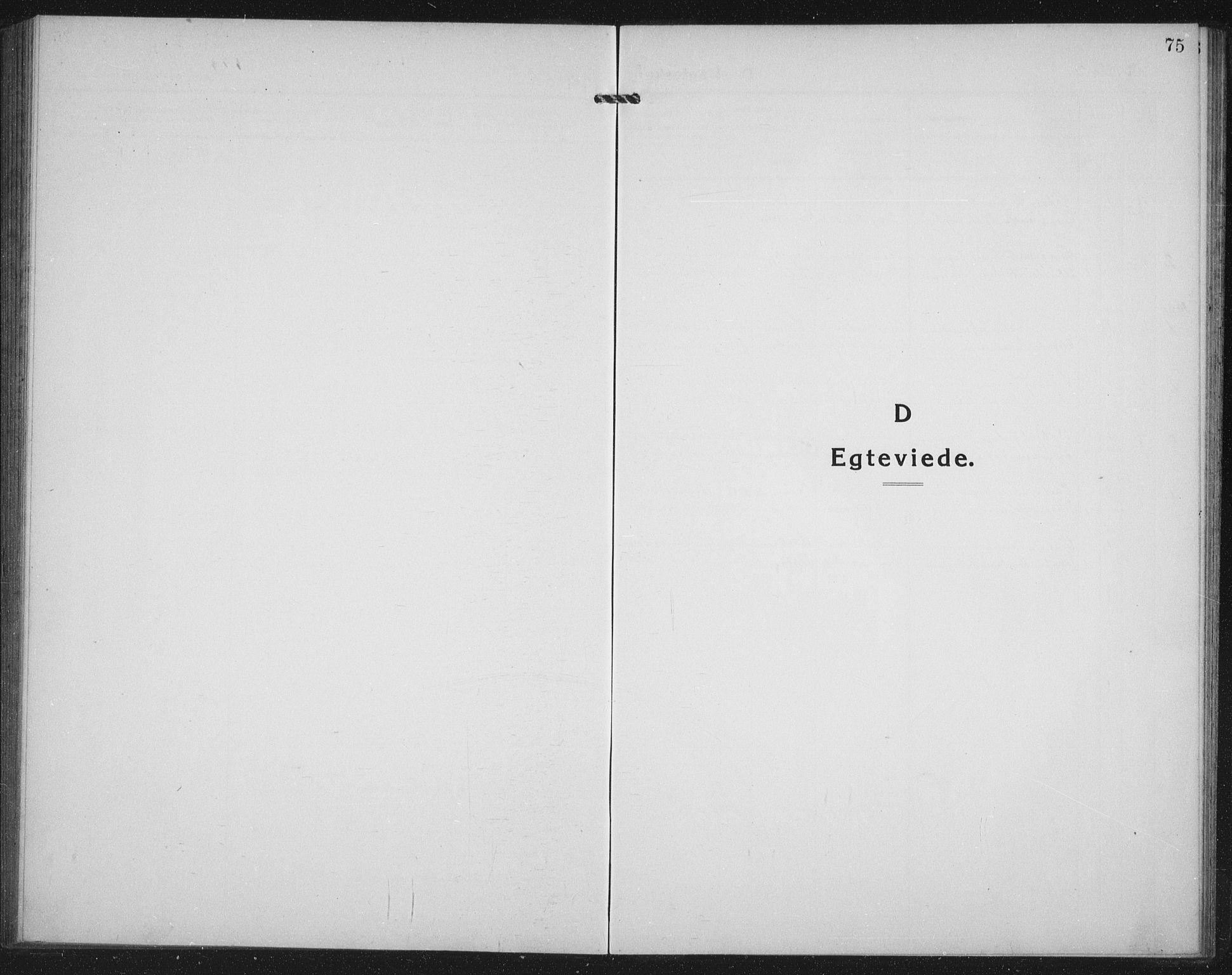 SATØ, Mefjord/Berg sokneprestkontor, G/Ga/Gab/L0014klokker: Klokkerbok nr. 14, 1922-1933, s. 75
