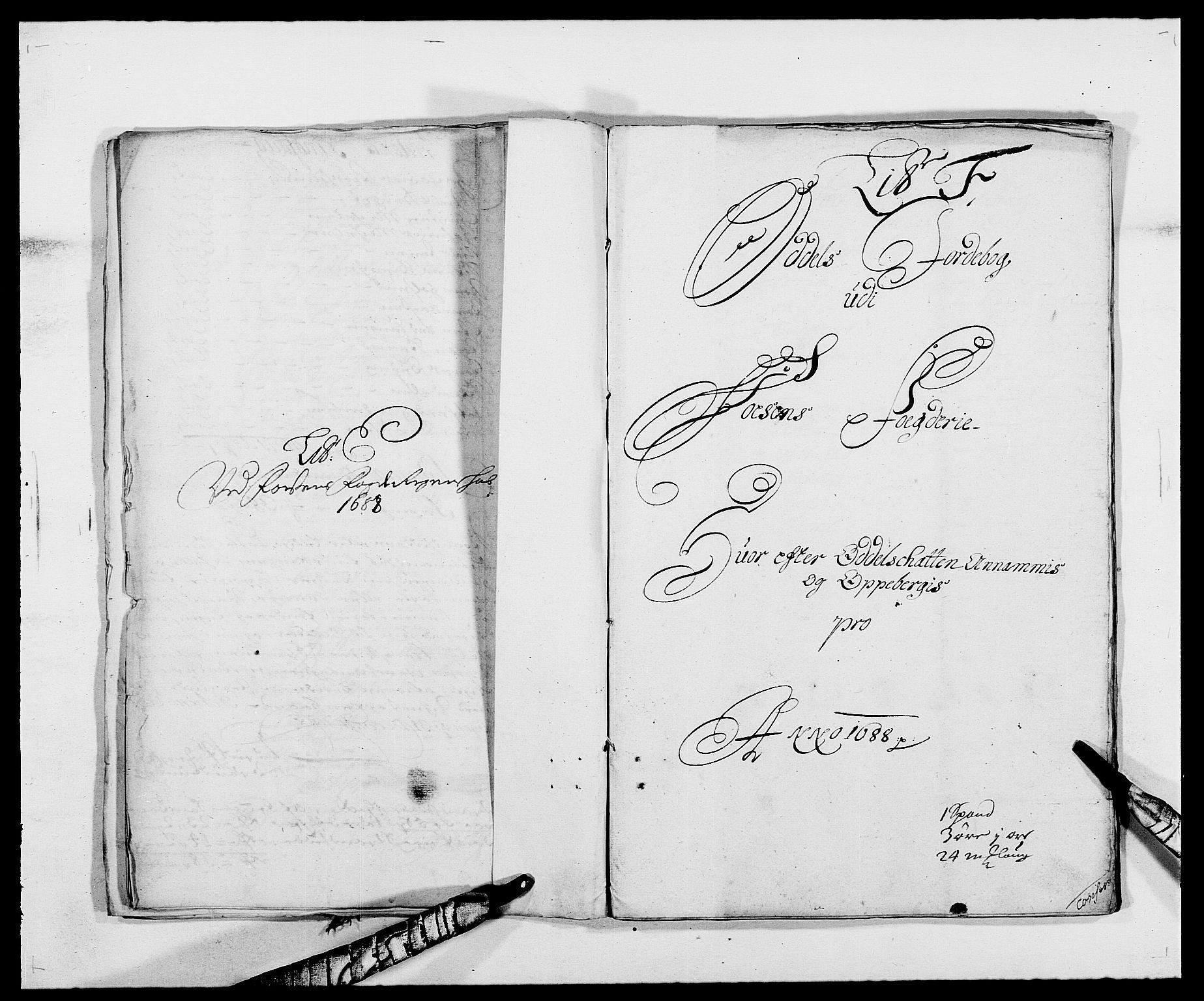 RA, Rentekammeret inntil 1814, Reviderte regnskaper, Fogderegnskap, R57/L3846: Fogderegnskap Fosen, 1688, s. 84