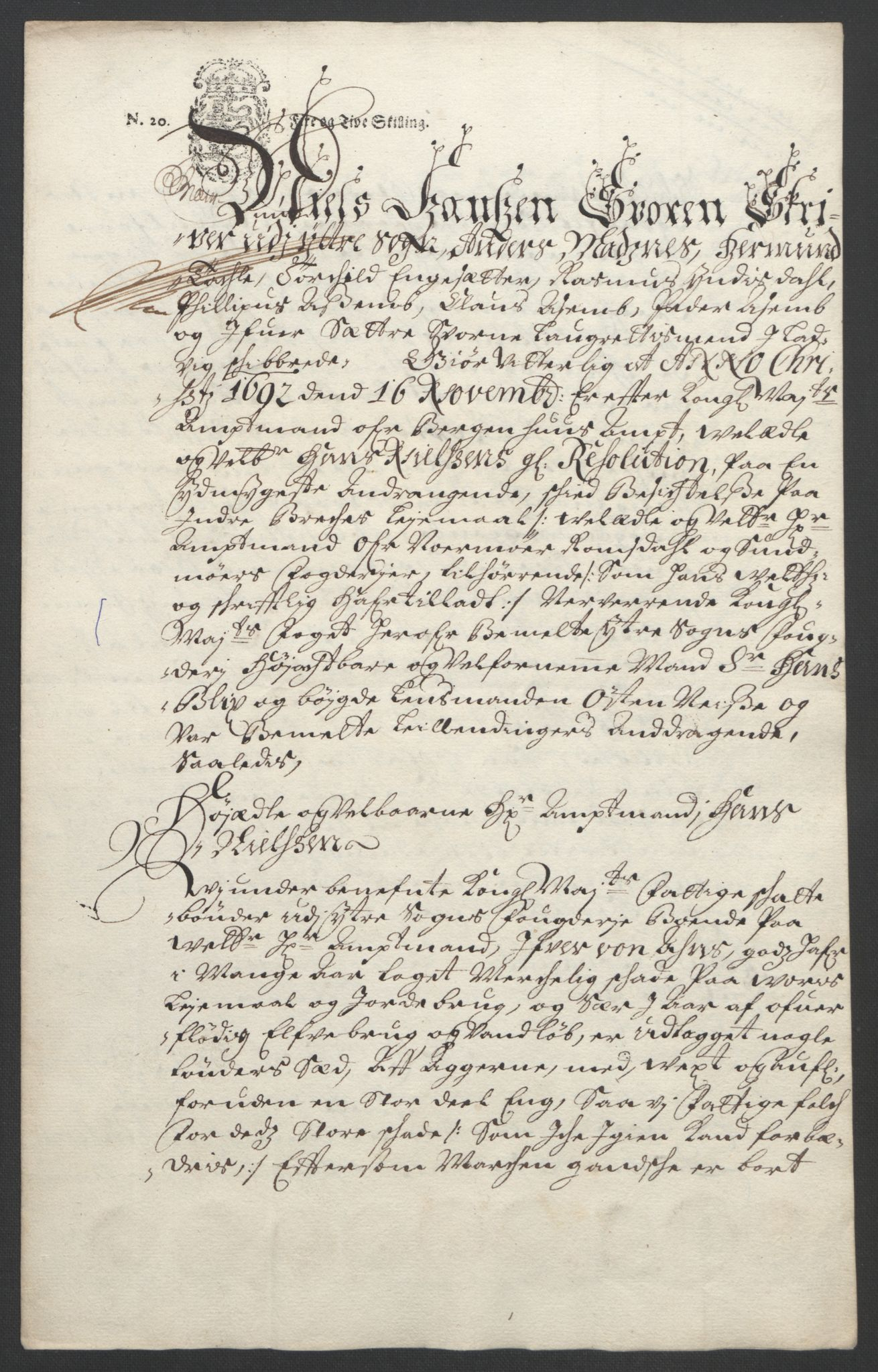RA, Rentekammeret inntil 1814, Reviderte regnskaper, Fogderegnskap, R52/L3306: Fogderegnskap Sogn, 1691-1692, s. 377