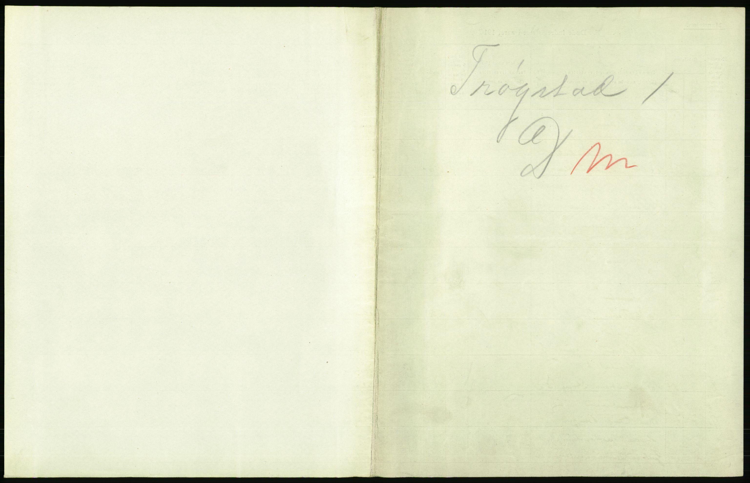 RA, Statistisk sentralbyrå, Sosiodemografiske emner, Befolkning, D/Df/Dfb/Dfbg/L0002: Smålenenes amt: Døde. Bygder, samt dødfødte. Bygder og byer., 1917