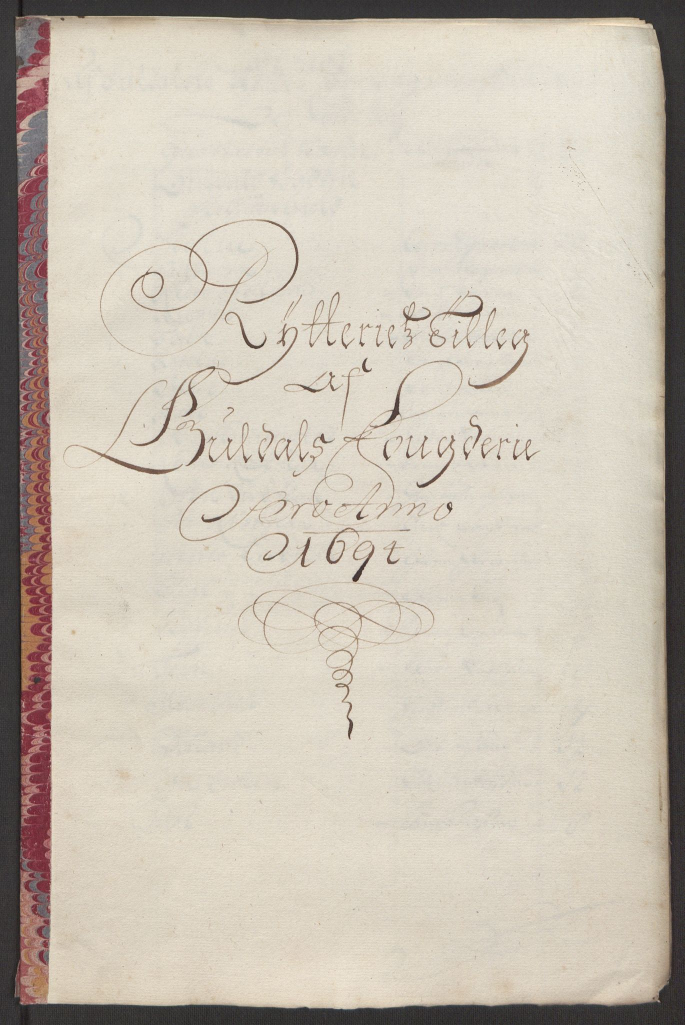 RA, Rentekammeret inntil 1814, Reviderte regnskaper, Fogderegnskap, R60/L3944: Fogderegnskap Orkdal og Gauldal, 1694, s. 425