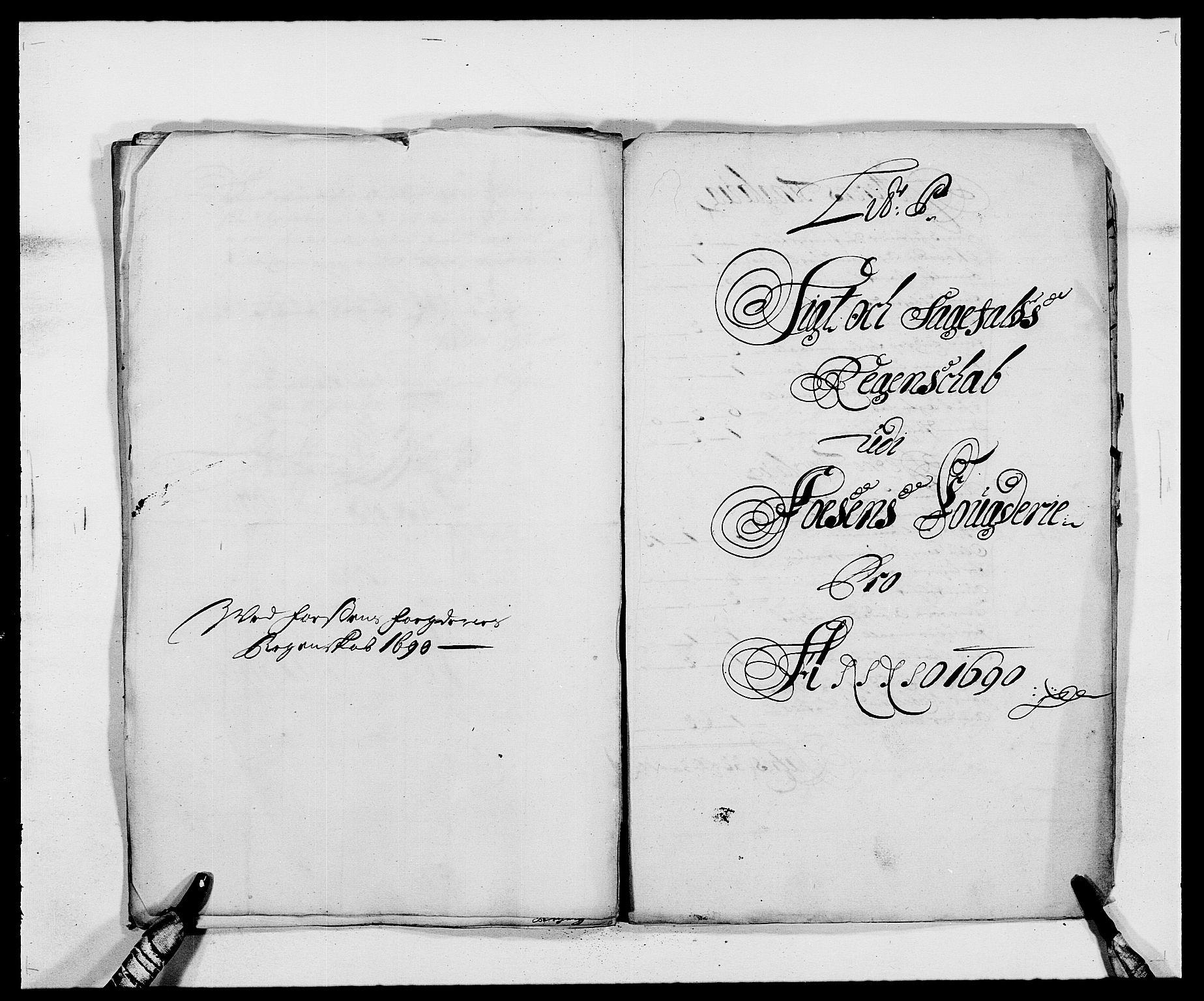 RA, Rentekammeret inntil 1814, Reviderte regnskaper, Fogderegnskap, R57/L3848: Fogderegnskap Fosen, 1690-1691, s. 183