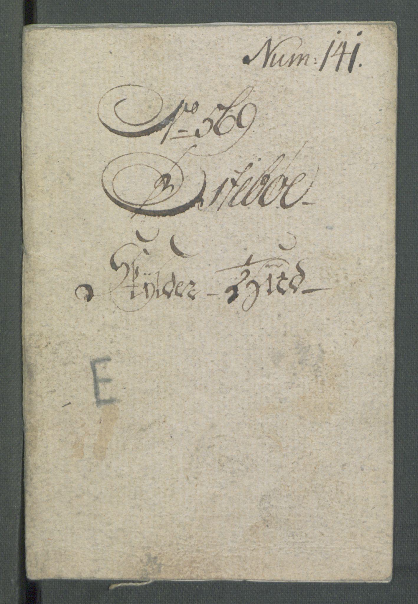 RA, Rentekammeret inntil 1814, Realistisk ordnet avdeling, Od/L0001: Oppløp, 1786-1769, s. 540