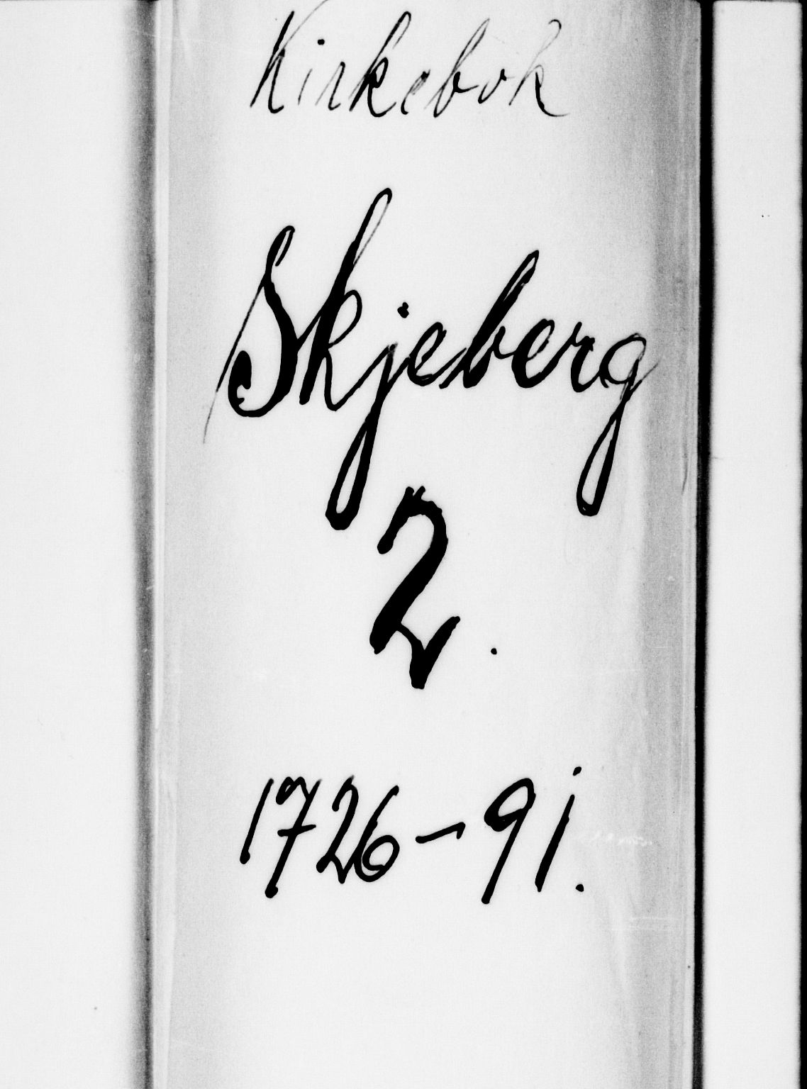 SAO, Skjeberg prestekontor Kirkebøker, F/Fa/L0002: Ministerialbok nr. I 2, 1726-1791