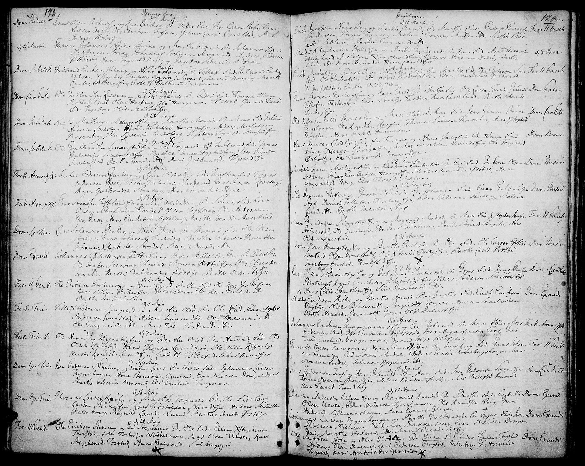 SAH, Ringsaker prestekontor, K/Ka/L0002: Ministerialbok nr. 2, 1747-1774, s. 173-174
